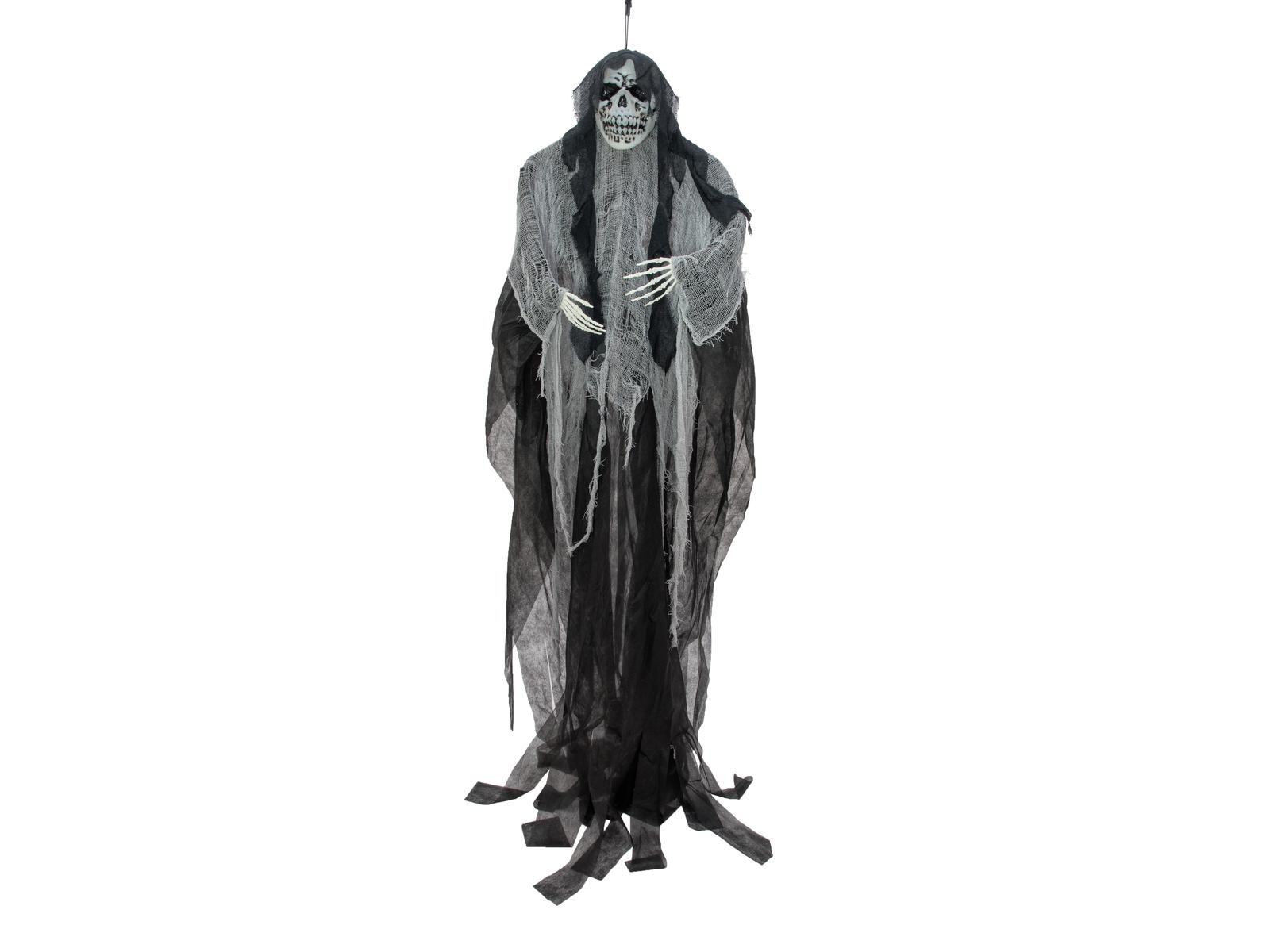 EUROPALMS Halloween Figura anziana Donna, Bagliore nel Buio, 210cm