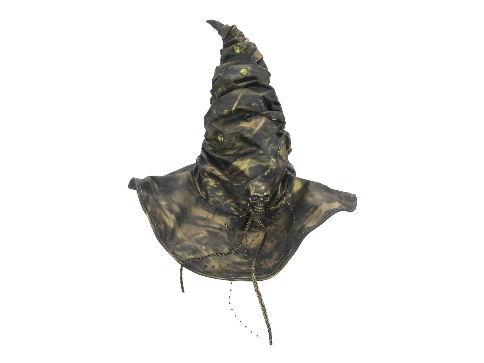 EUROPALMS Costume Cappello da strega Travestimento di Halloween