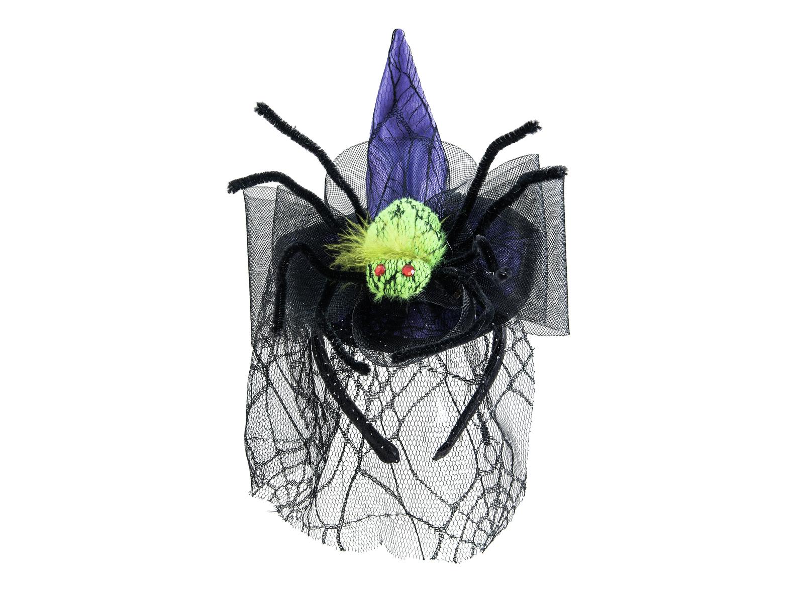EUROPALMS Halloween Kostüm Hexenhut mit Spinne