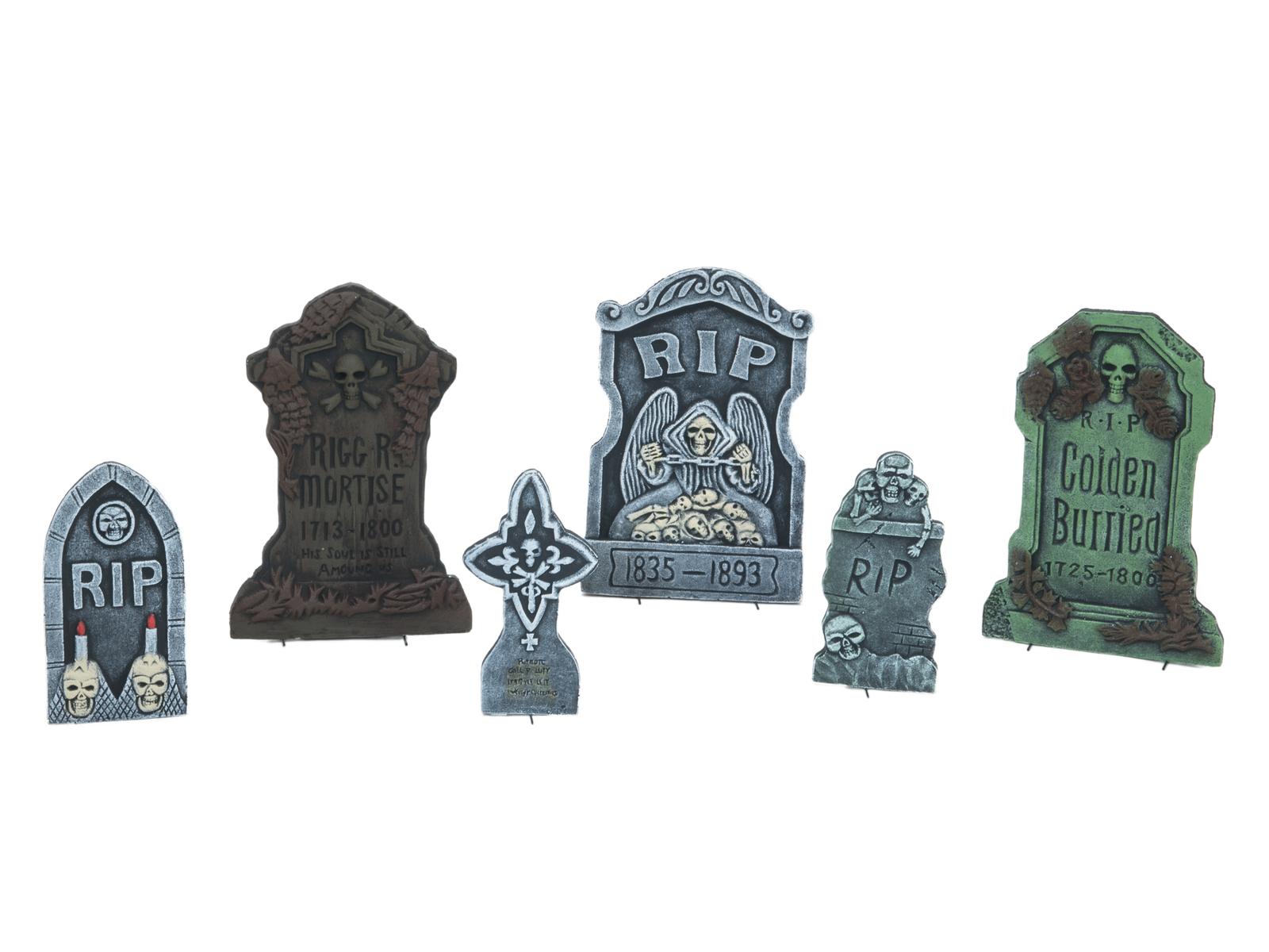 EUROPALMS di Halloween Lapide Set da 6 pezzi