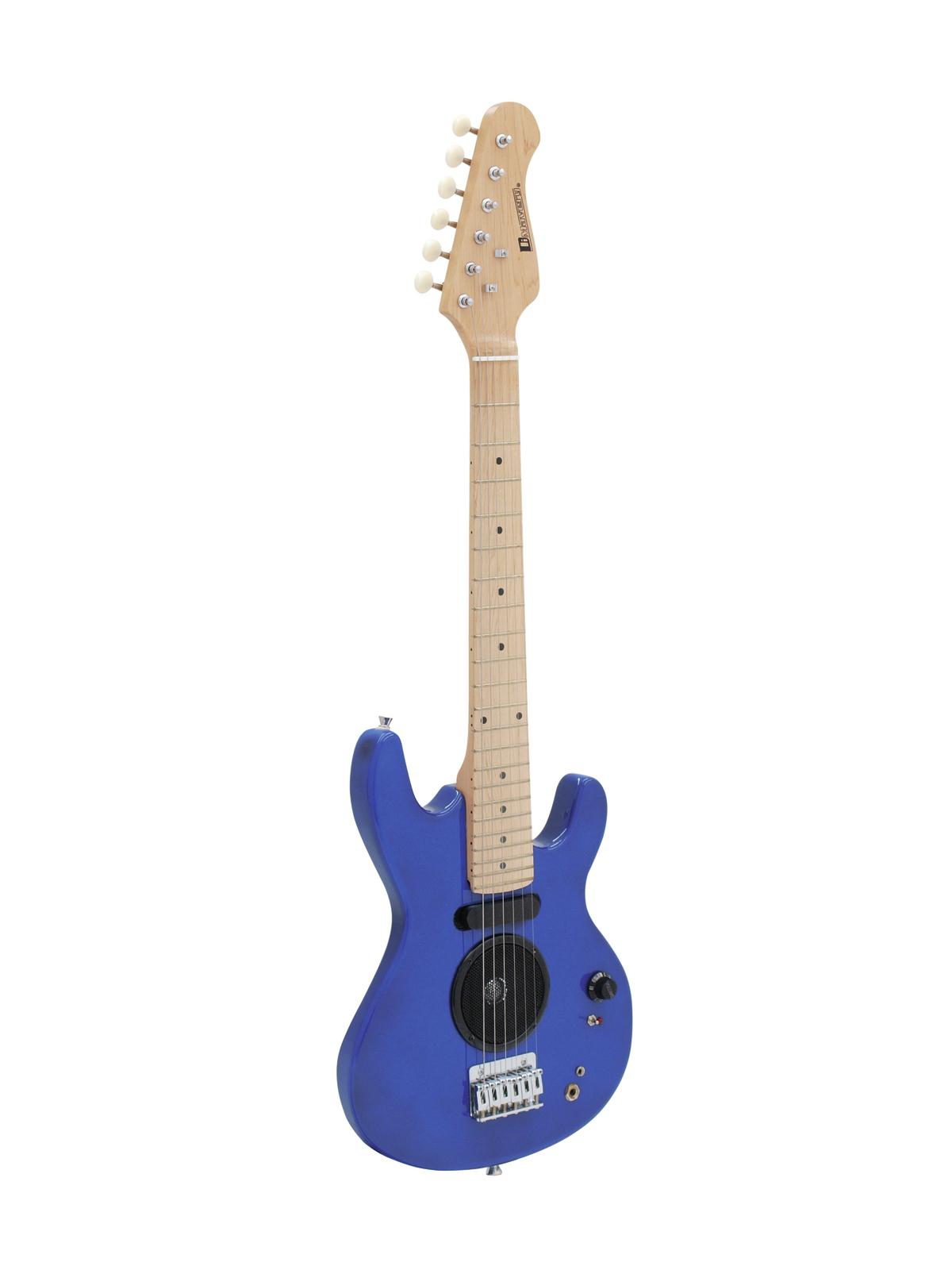 DIMAVERY J-200 E-Guitar, blu