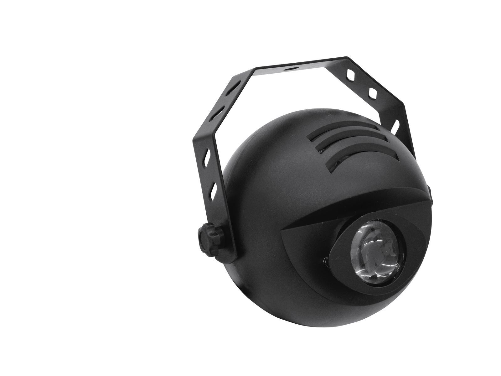 Proiettore effetto acqua, telecomando a infrarossi, 10 W, EUROLITE LED H2O  IR