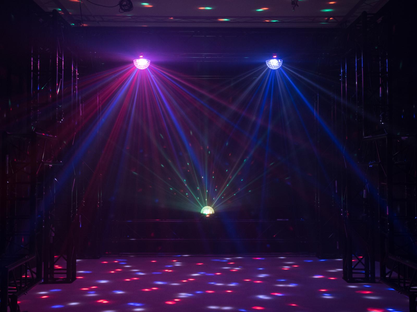 Effetto luce Light per Dj Mini ball a led DMX Eurolite Beam BC-6