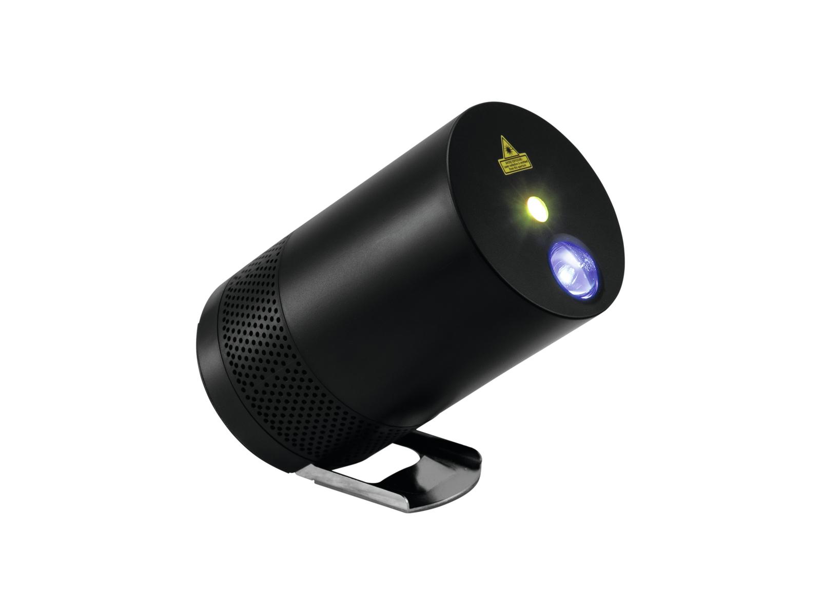 EUROLITE LightBeat 1 Altoparlante di Bluetooth con il Laser Effetto