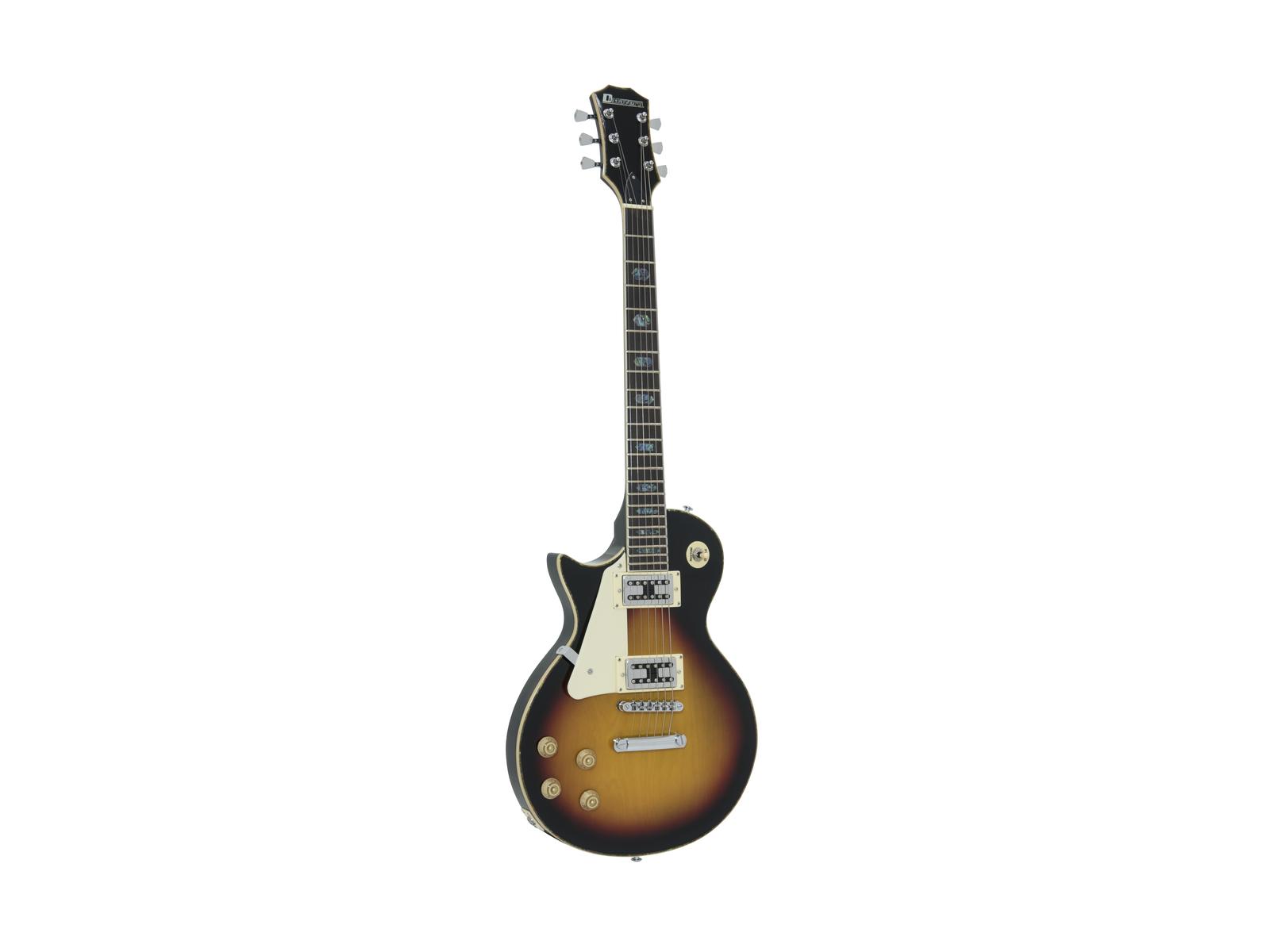 DIMAVERY LP-700L E-Gitarre, LH, sunburst