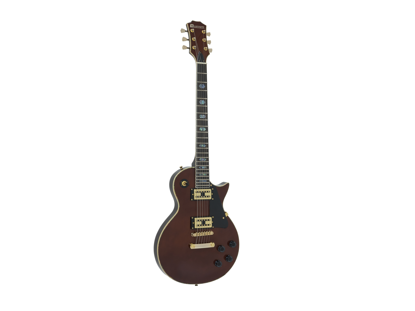 DIMAVERY LP-700 E-Gitarre, honey hi-gloss