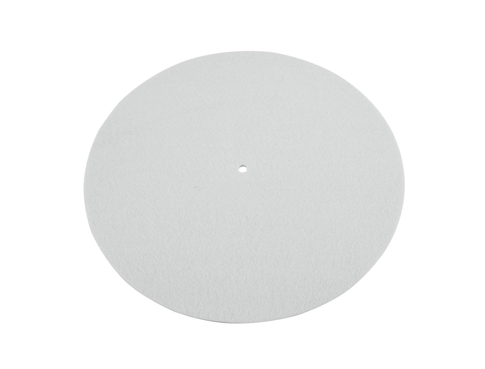 OMNITRONIC Slipmat, antistatisch, neutral weiß