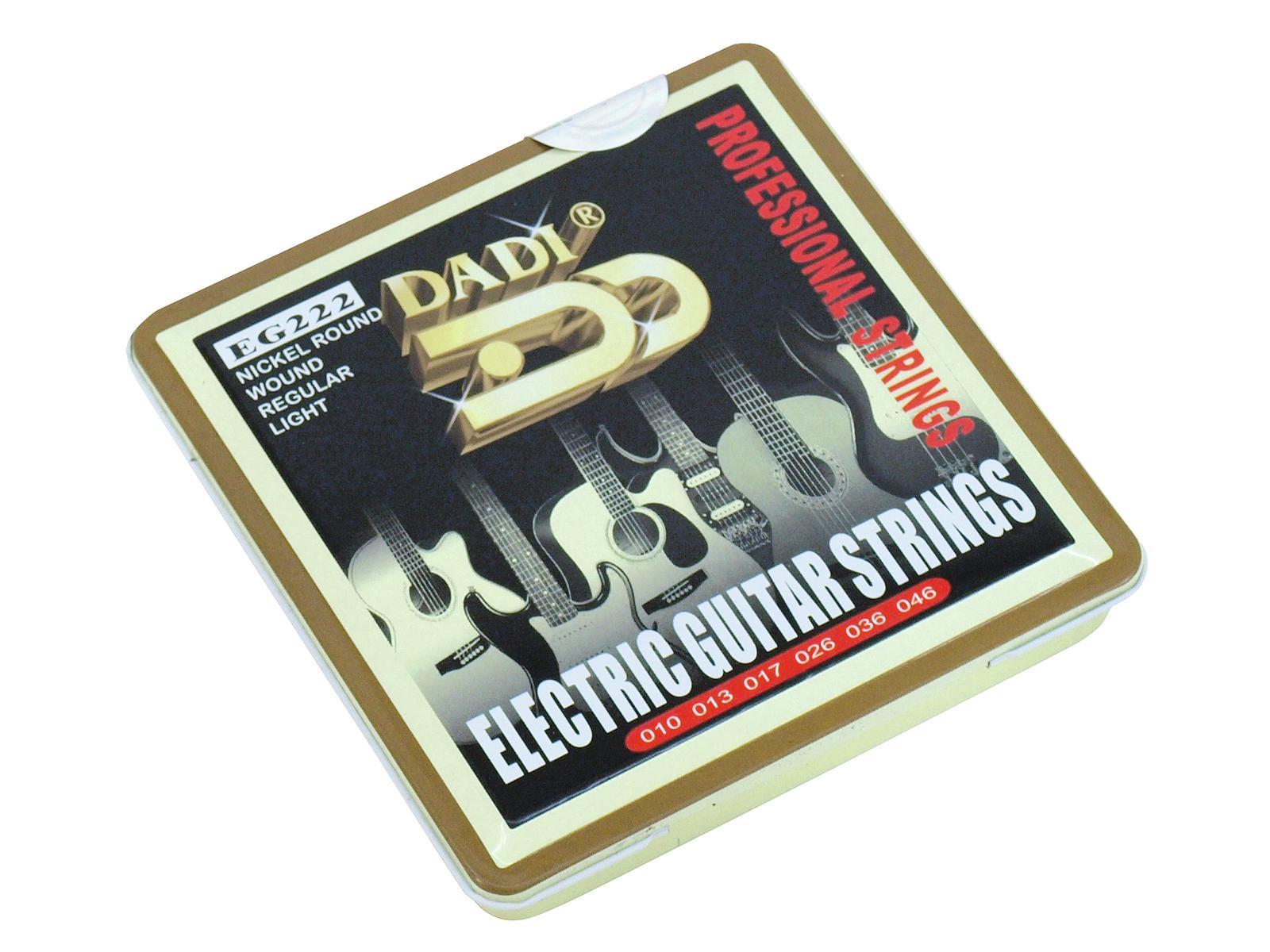 Set di corde per chitarra elettrica 010-046 DIMAVERY