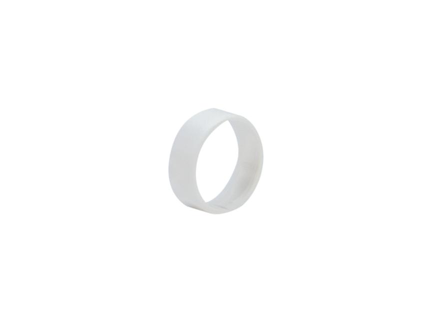 HICON HI-XC anello di marcatura per Hicon XLR dritto bianco