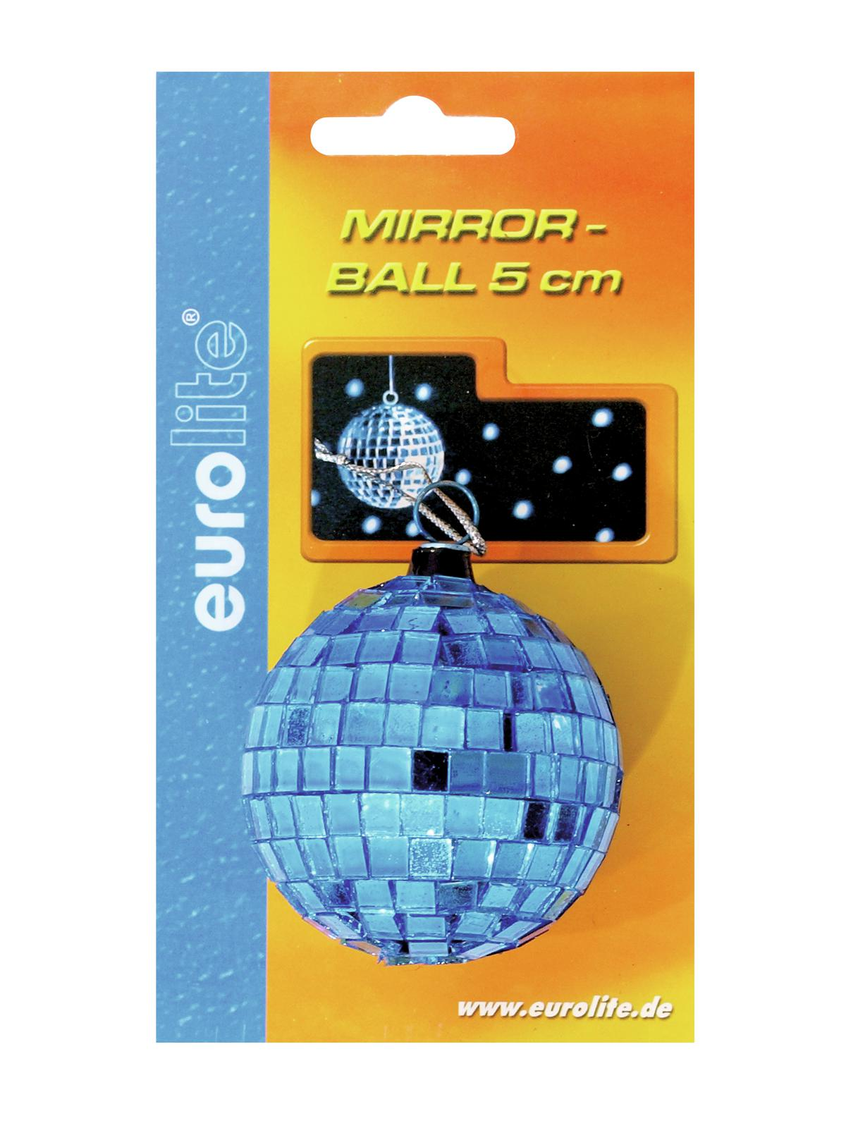 EUROLITE Mirror ball 5cm blu
