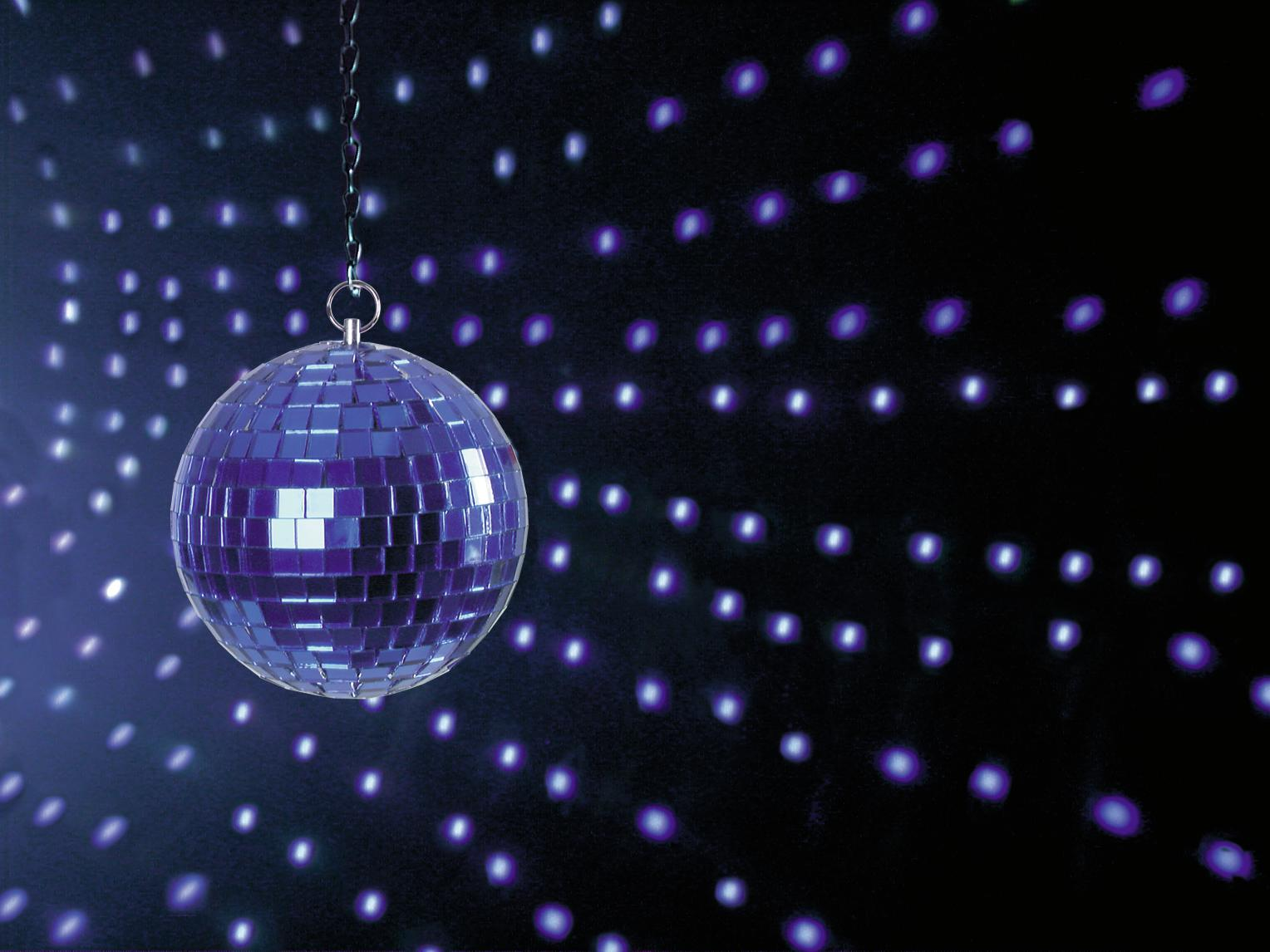 EUROLITE Mirror ball 10cm blu