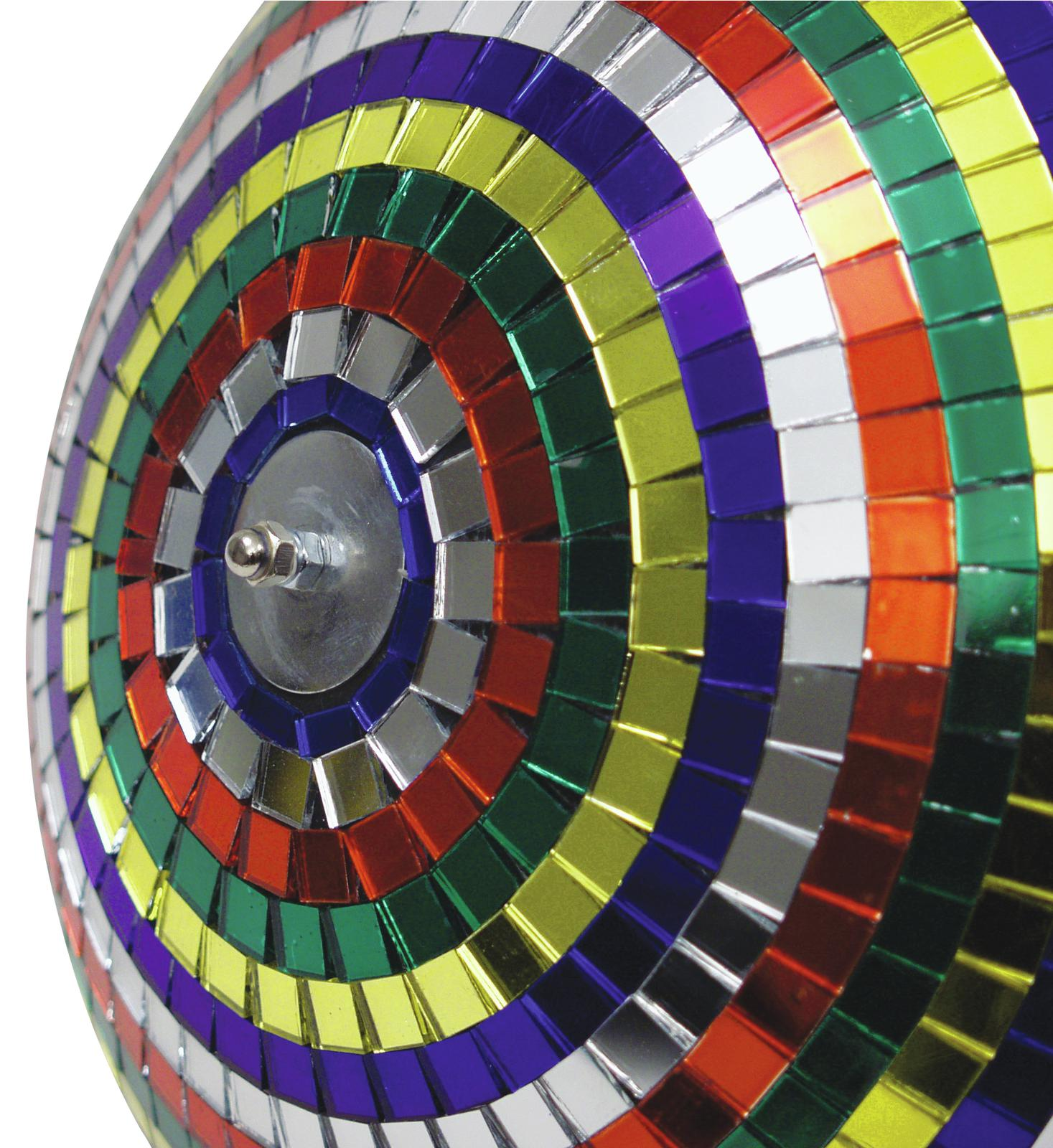 EUROLITE Mirror ball 30cm Multicolore