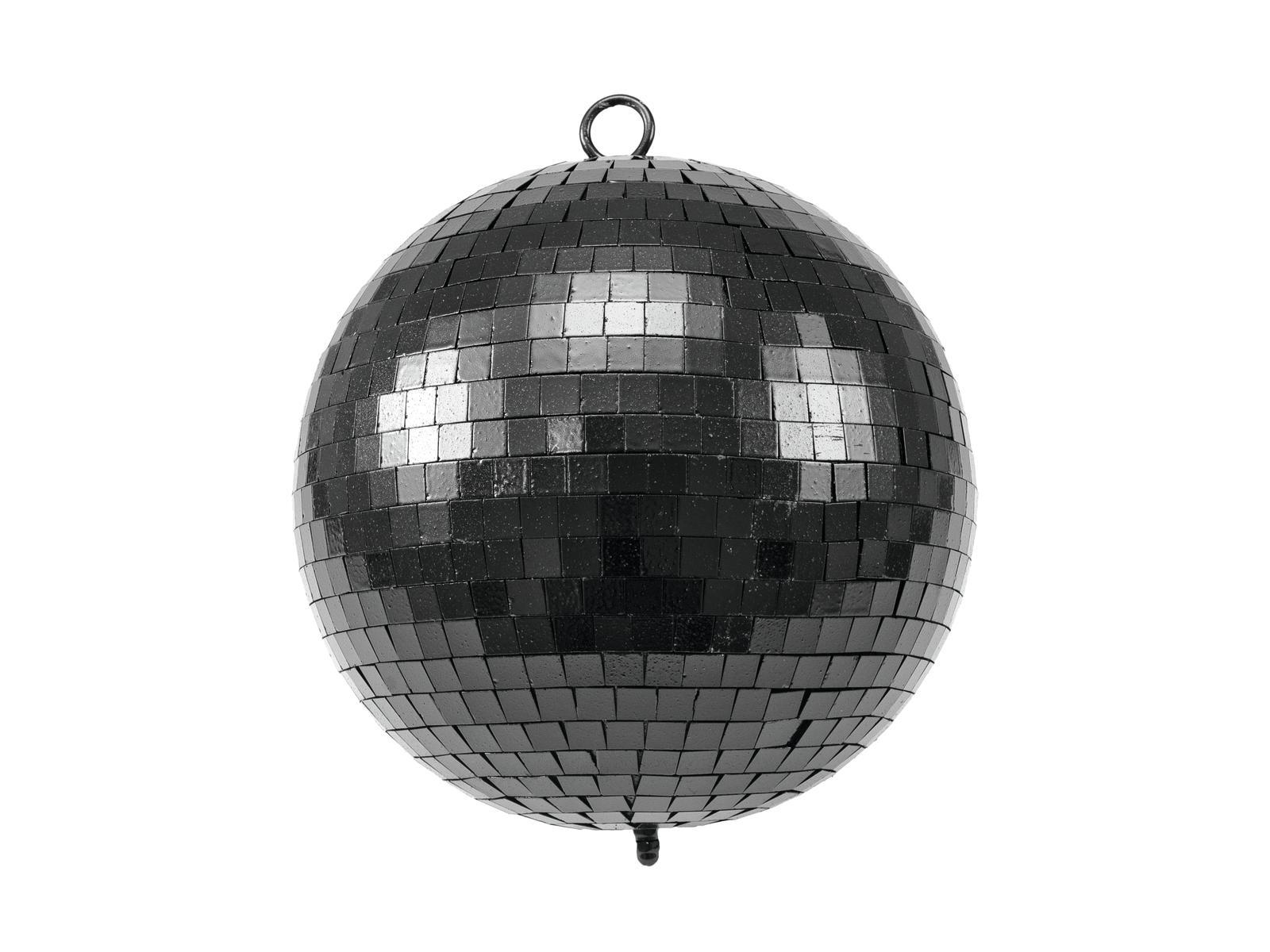 EUROLITE Mirror Ball 20cm nero opaco