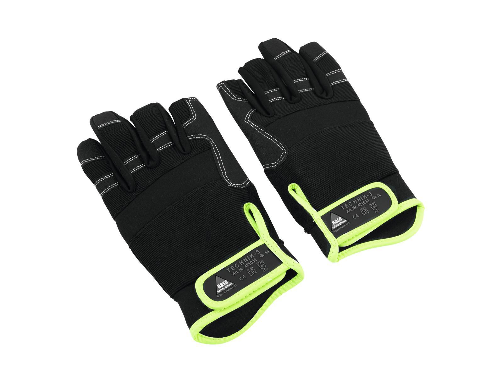 HASE Handschuh 3 Finger, Größe L