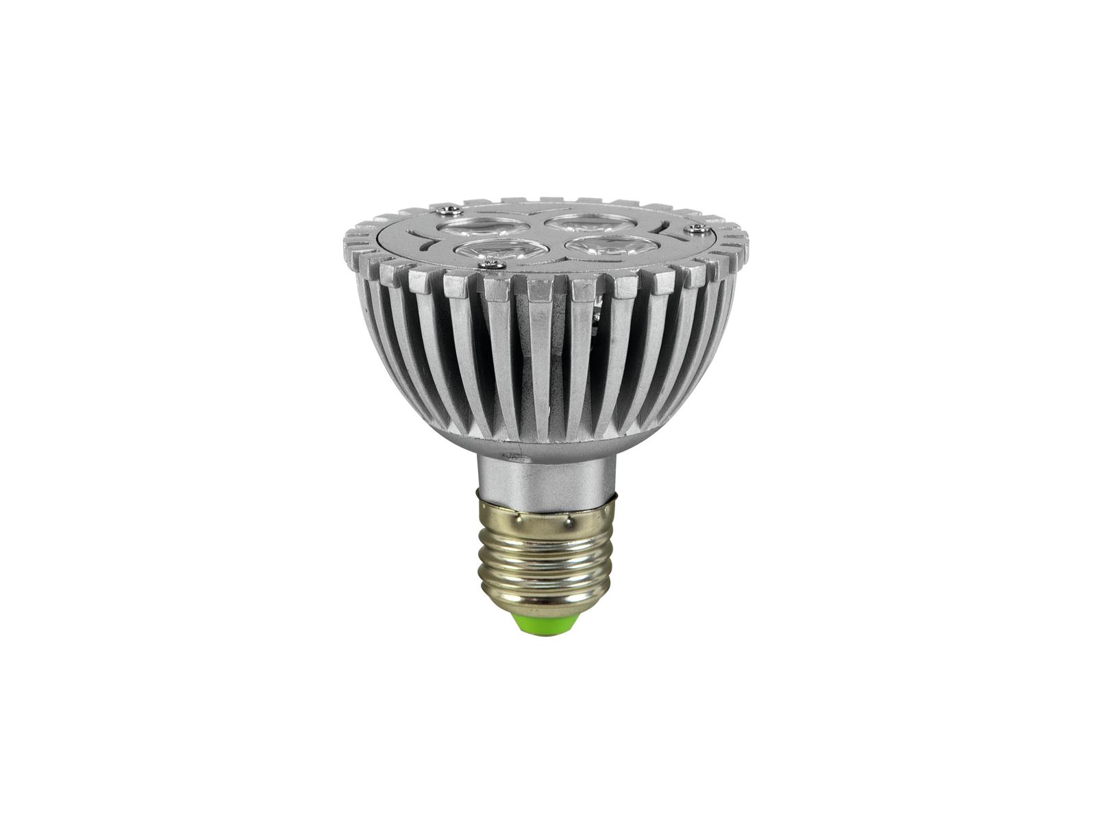 OMNILUX PAR-20 230V E-27 4x1 Led verde