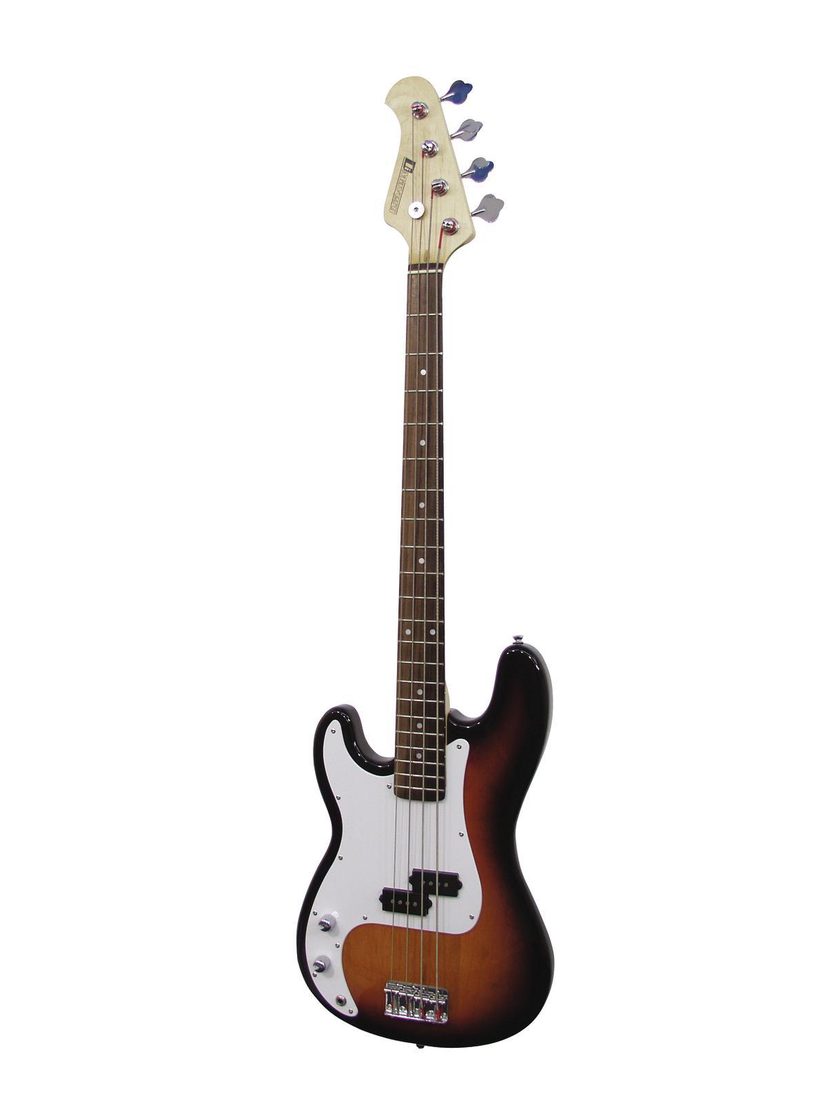 DIMAVERY PB-320 E-Bass LH, sunburst