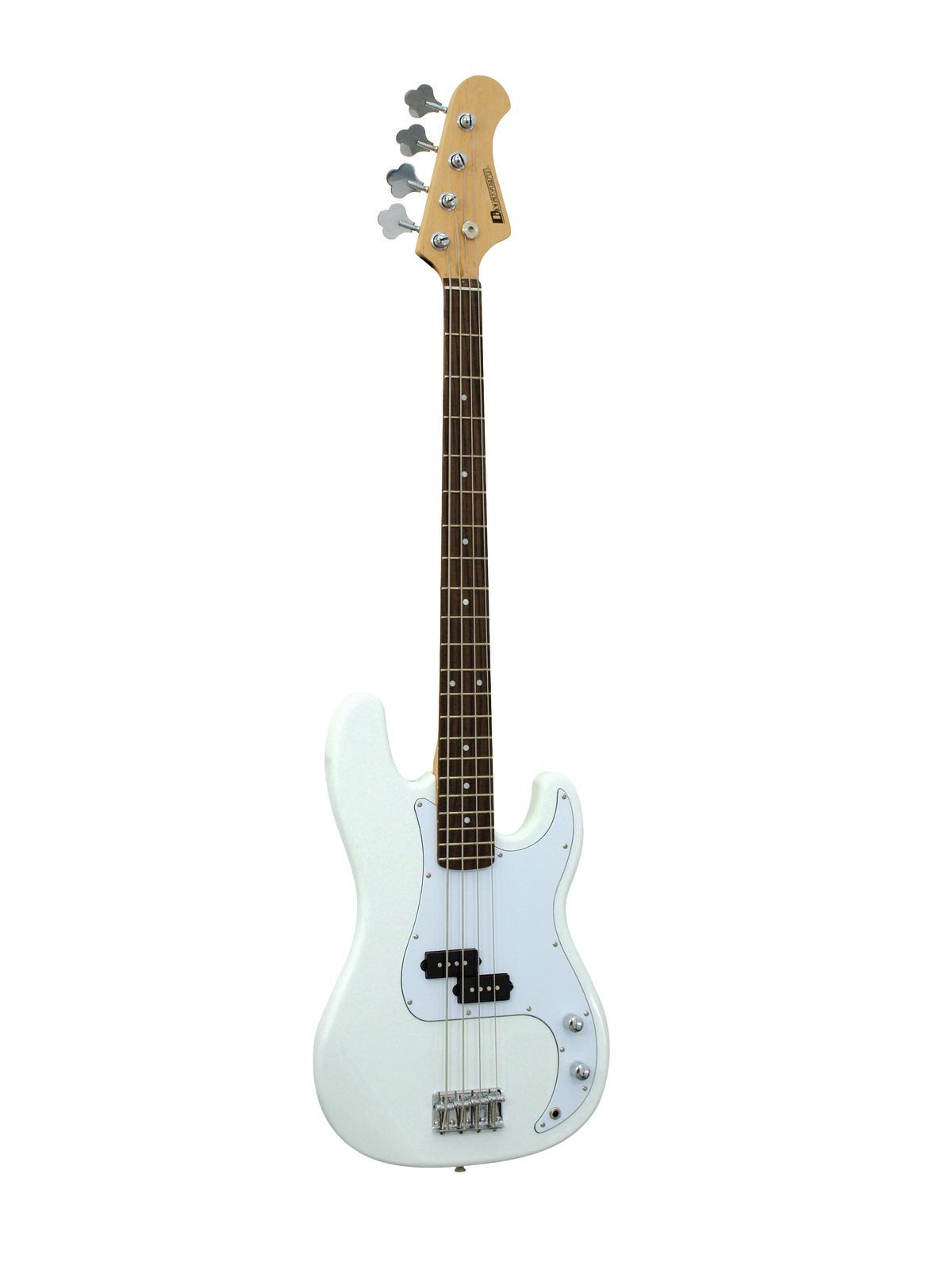 DIMAVERY PB-320 E-Bass, weiß