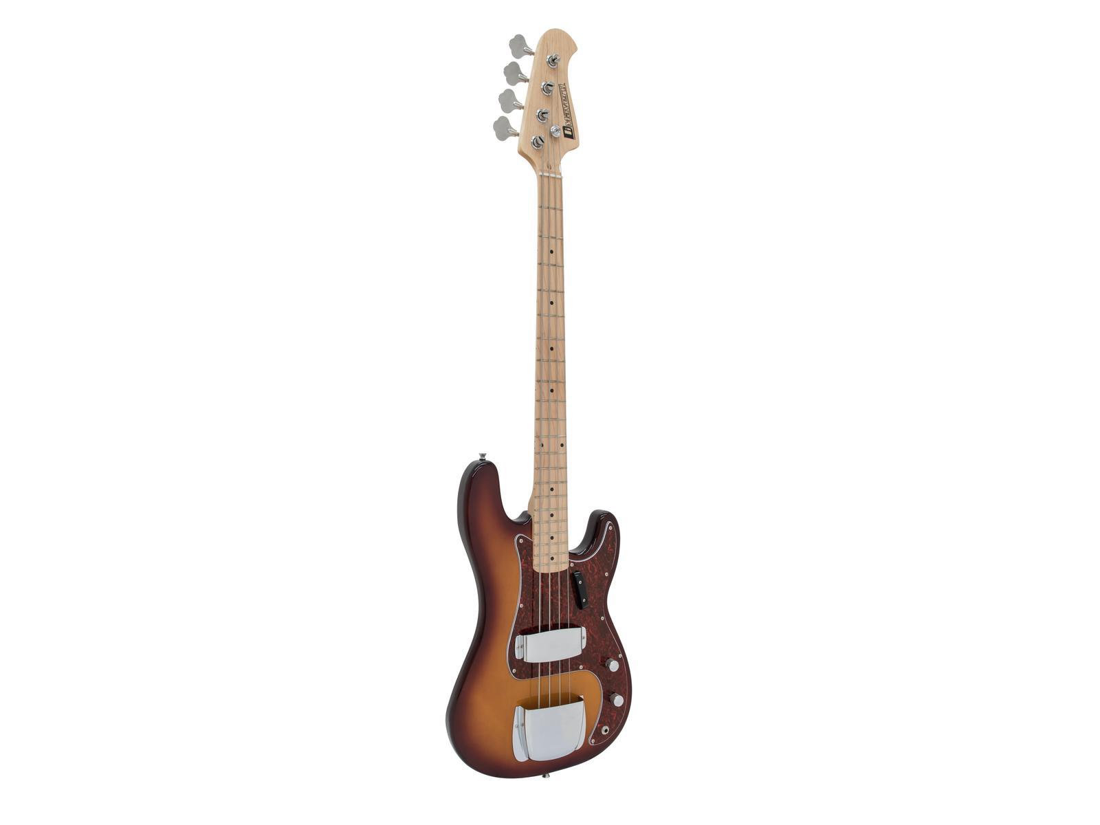 DIMAVERY PB-550A E-Bass, tobaccoburst