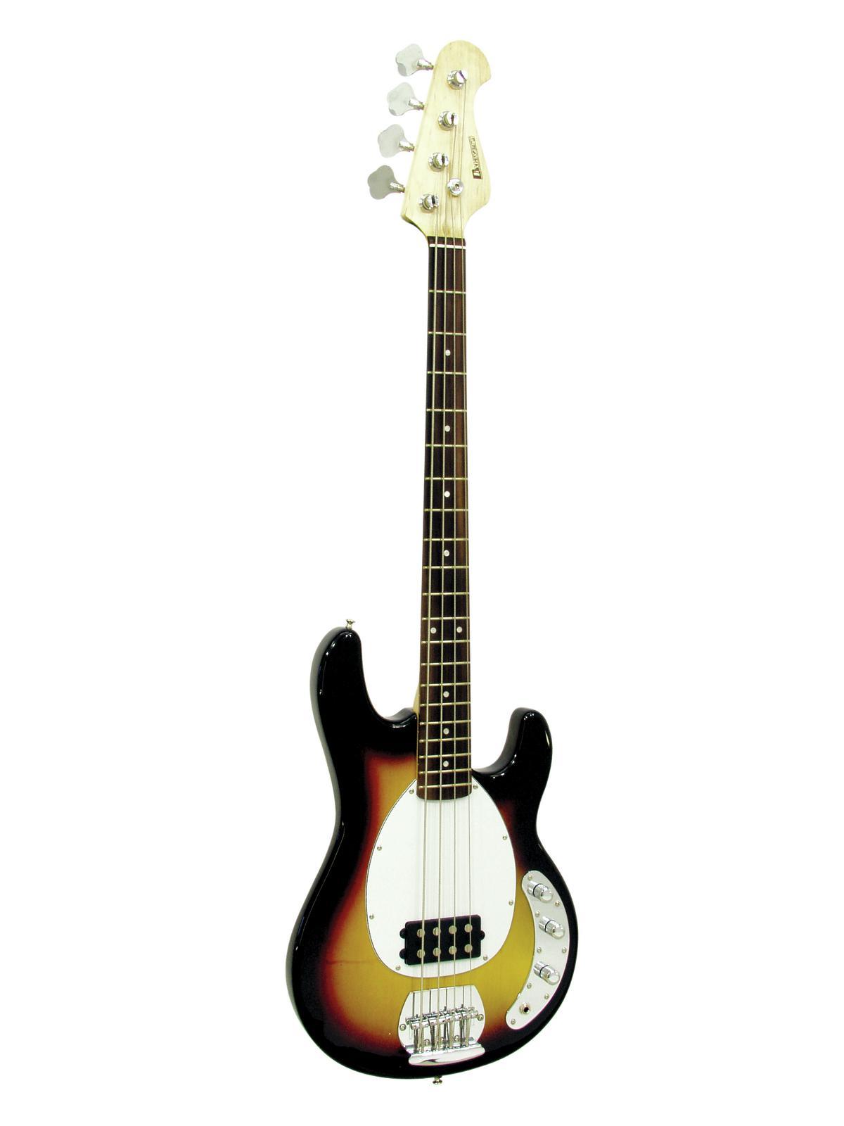 Basso Elettrico 4 corde Colore sunburst  DIMAVERY MM-501