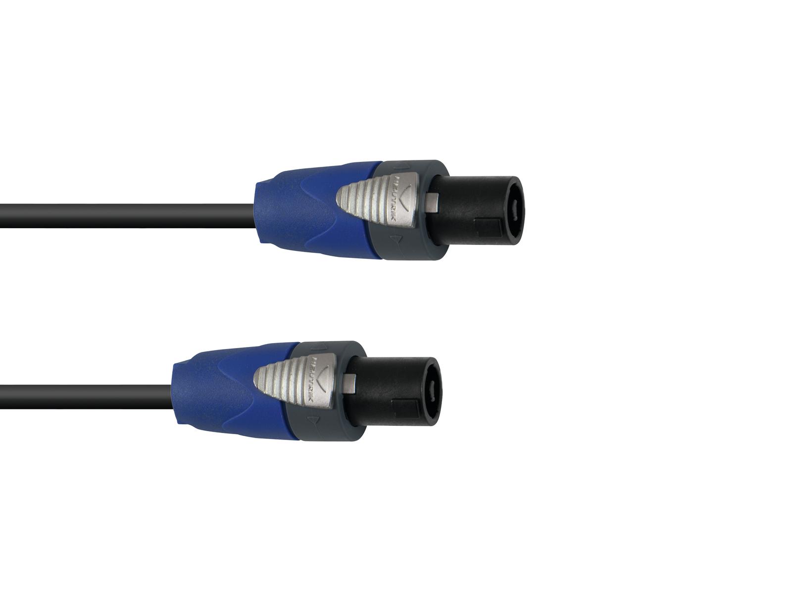 PSSO Altoparlante cavo Speakon 2x1.5 1,5 m bk