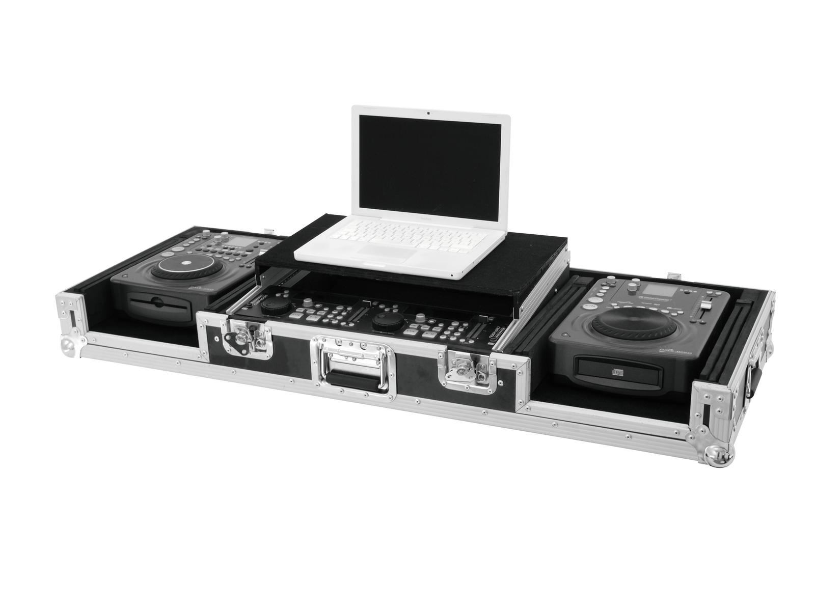 Flight Case Custodia Per Console Cdj Mixer Pc ROADINGER LS-1