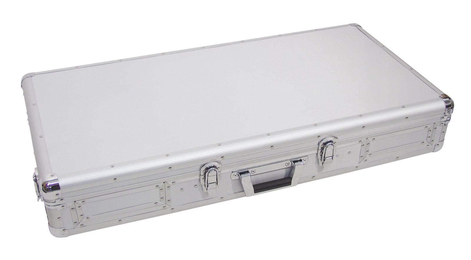 Flight Case Custodia Per Console Cdj Mixer Pc ROADINGER DIGI-1 2xCD/1xM-12 sil