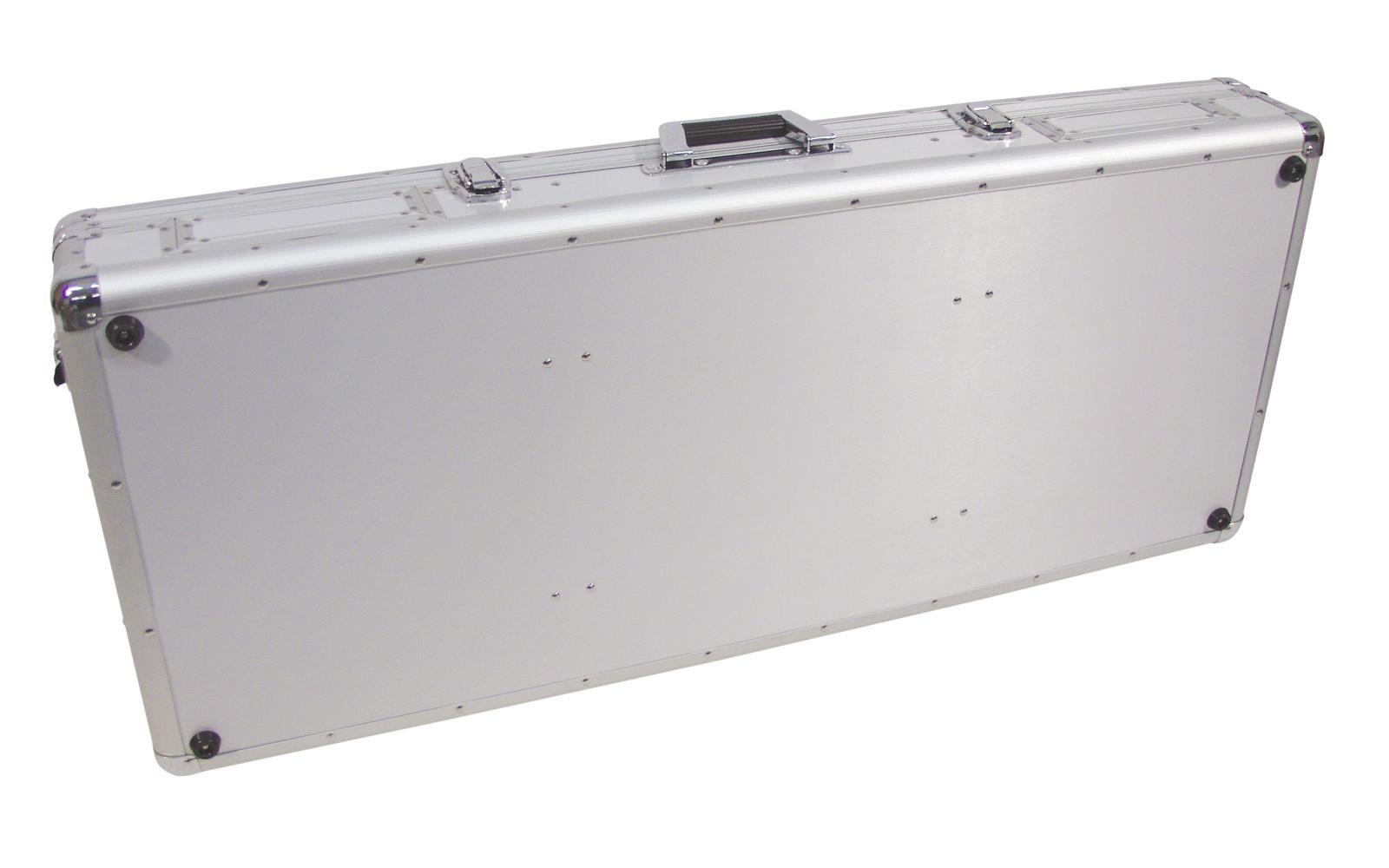 Flight Case Custodia Per Console Cdj Mixer Pc ROADINGER DIGI-2 2xCD/1xM-12 sil