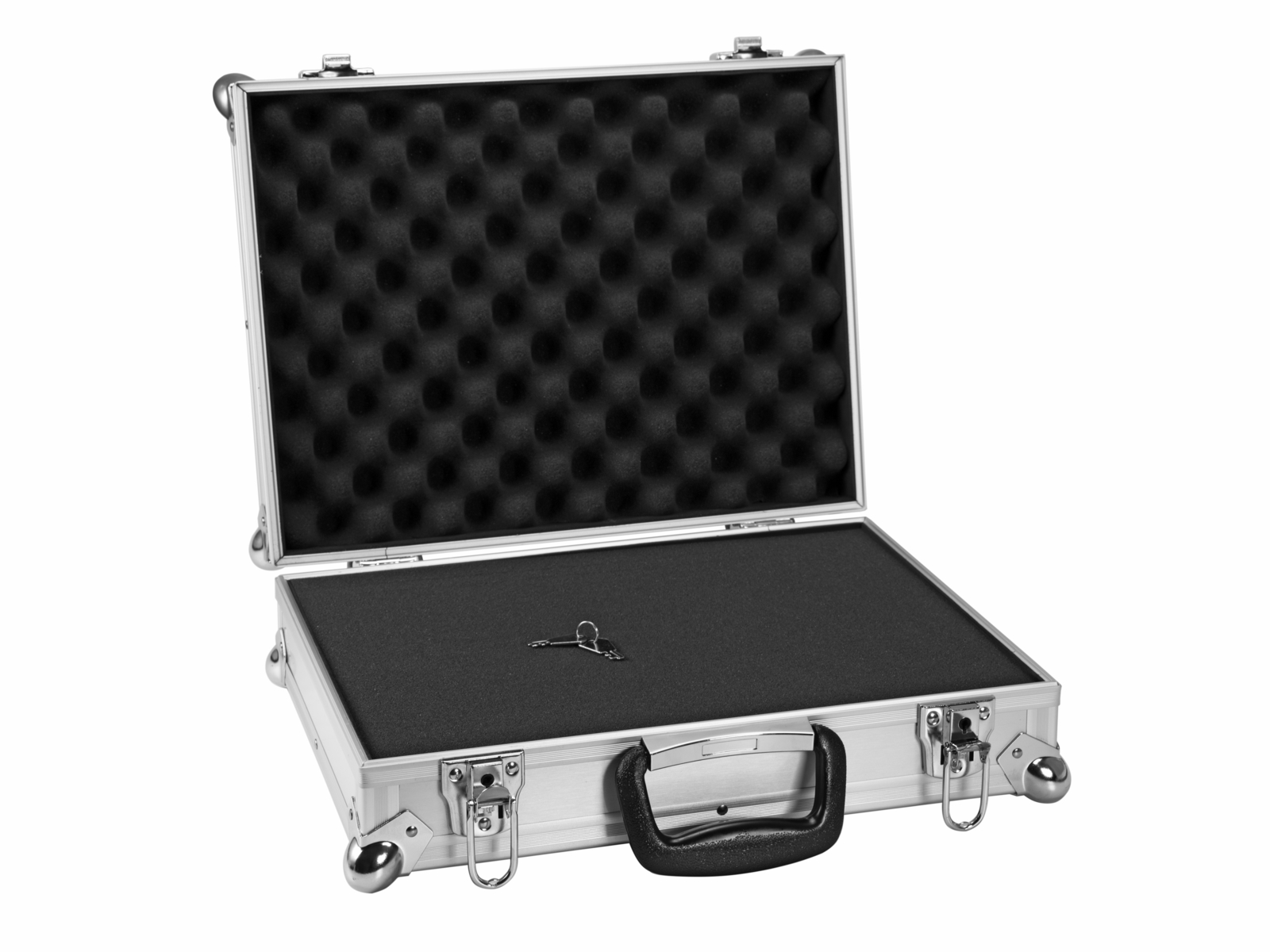 ROADINGER Universal-Koffer-Case FOAM GR-5 alu