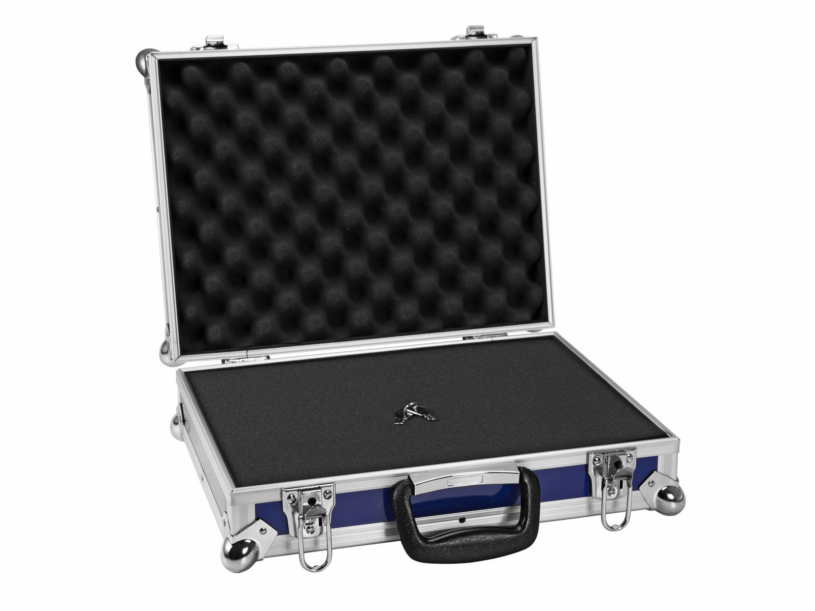 ROADINGER Universal-Koffer-Case FOAM GR-5 blau