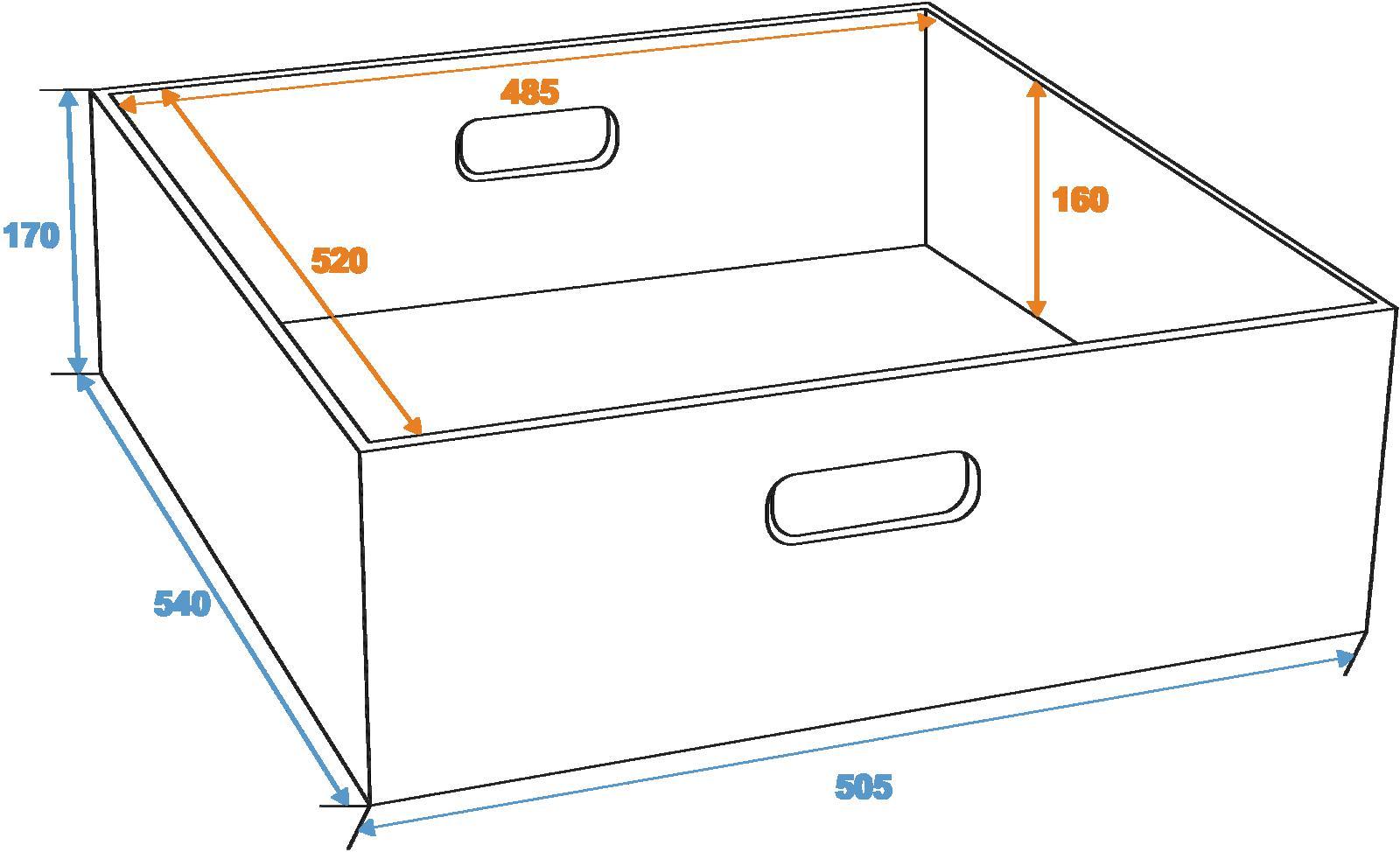 ROADINGER scatola Cassetto per universal tour caso