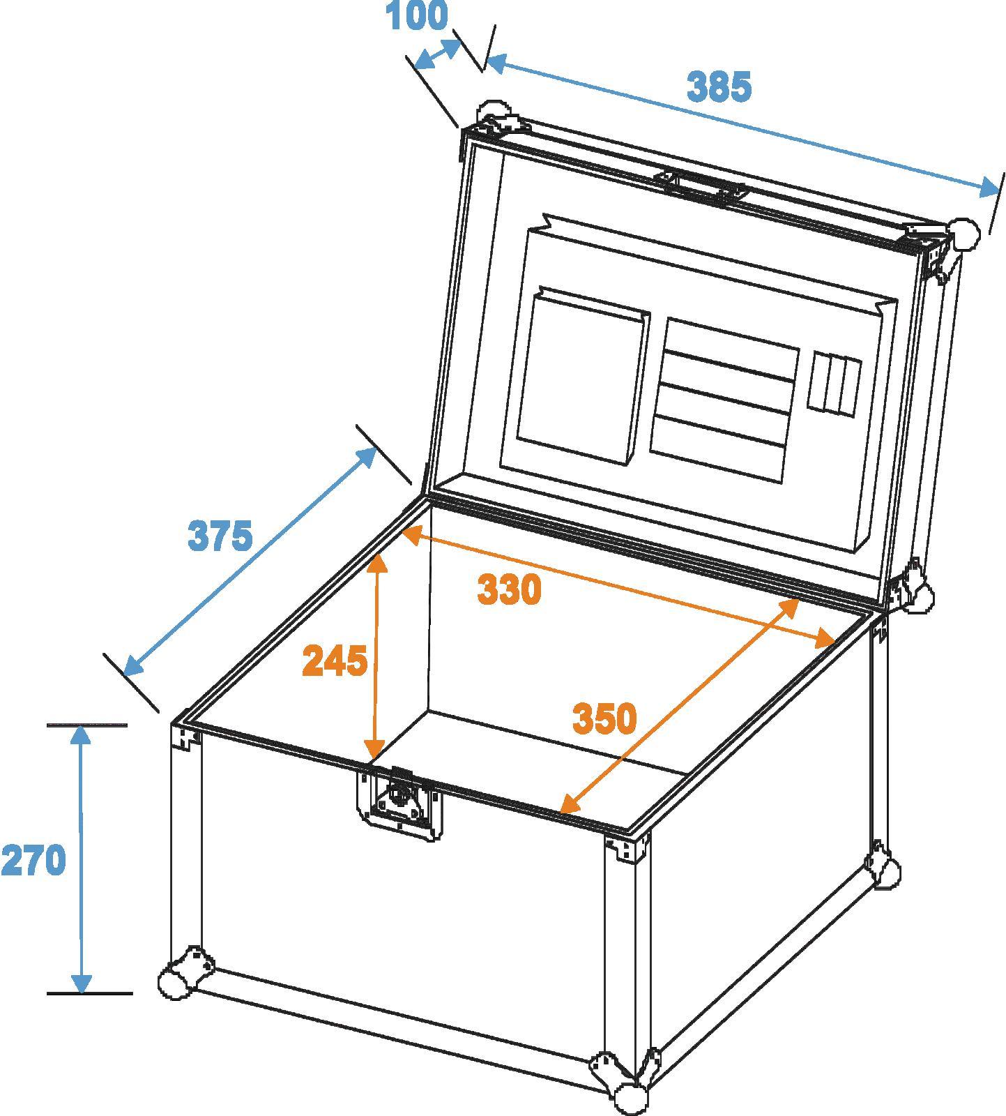 ROADINGER Universal document caso GR-2, bk
