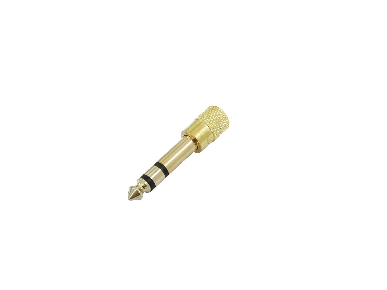 OMNITRONIC Adattatore Jack(M)/Jack 3.5(F) 10x