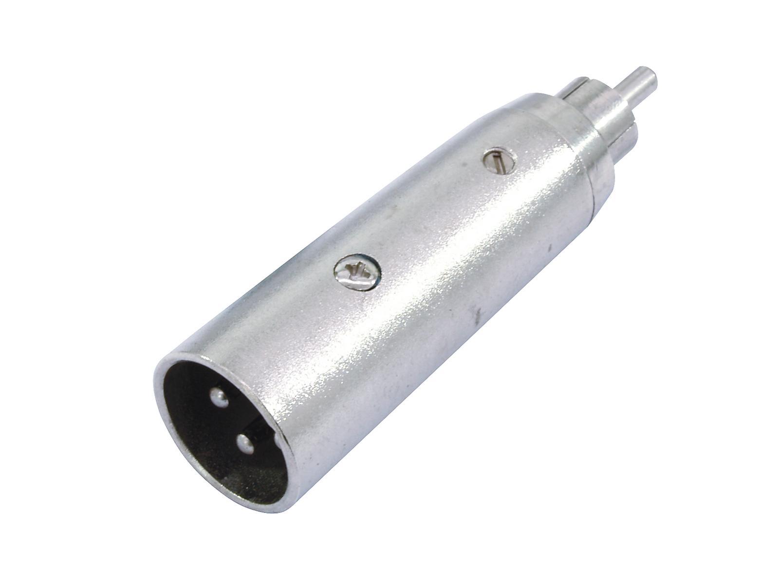 OMNITRONIC Adattatore RCA(M)/XLR(M)