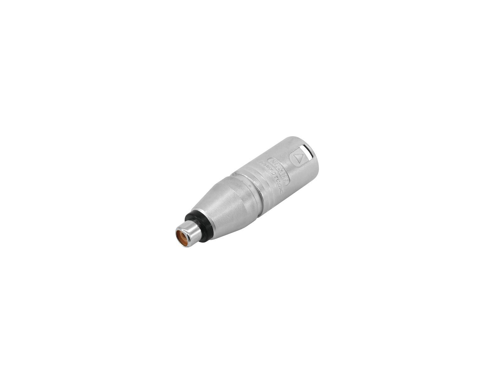 Adattatore NEUTRIK XLR(M)/RCA(F) NA2MPMF
