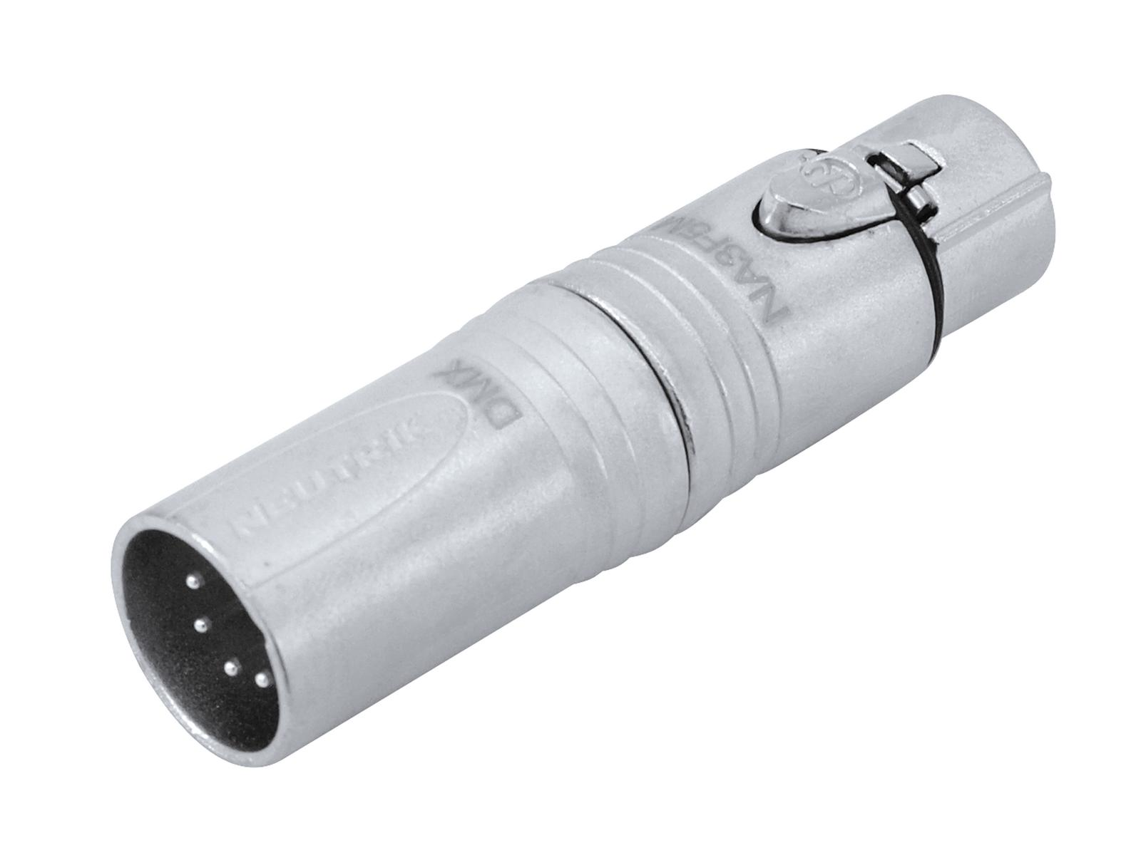 NEUTRIK Adapter 3pol XLR(F)/5pol XLR(M) NA3F5M