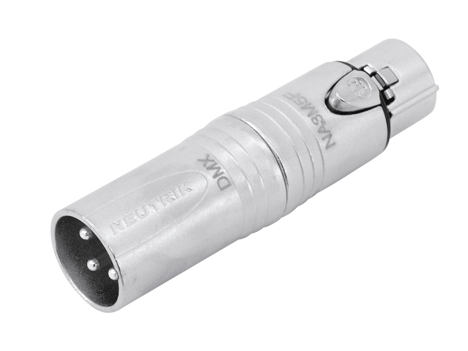 NEUTRIK Adapter 3pol XLR(M)/5pol XLR(F) NA3M5F