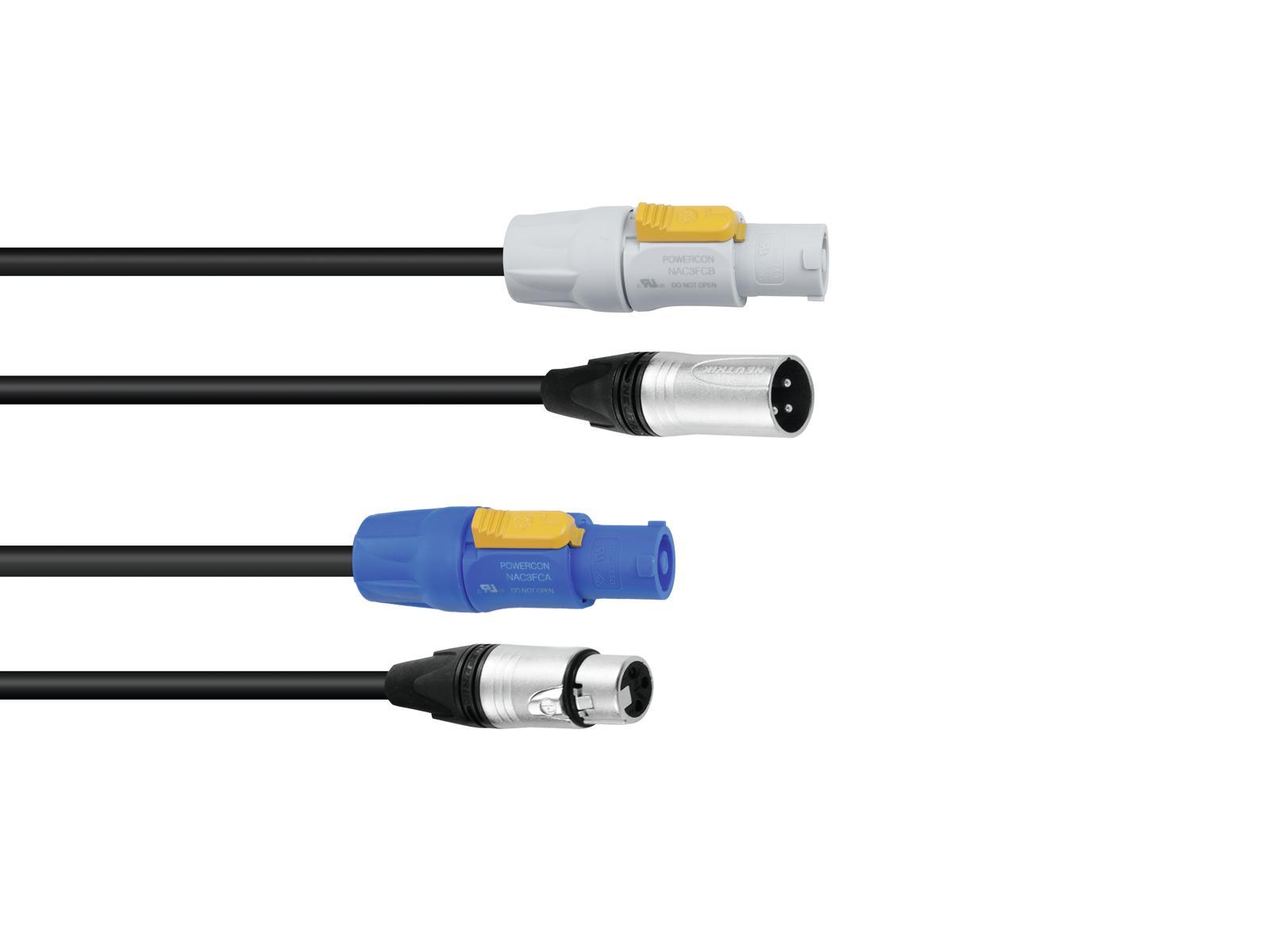 PSSO Combi cavo PowerCon/XLR 3m