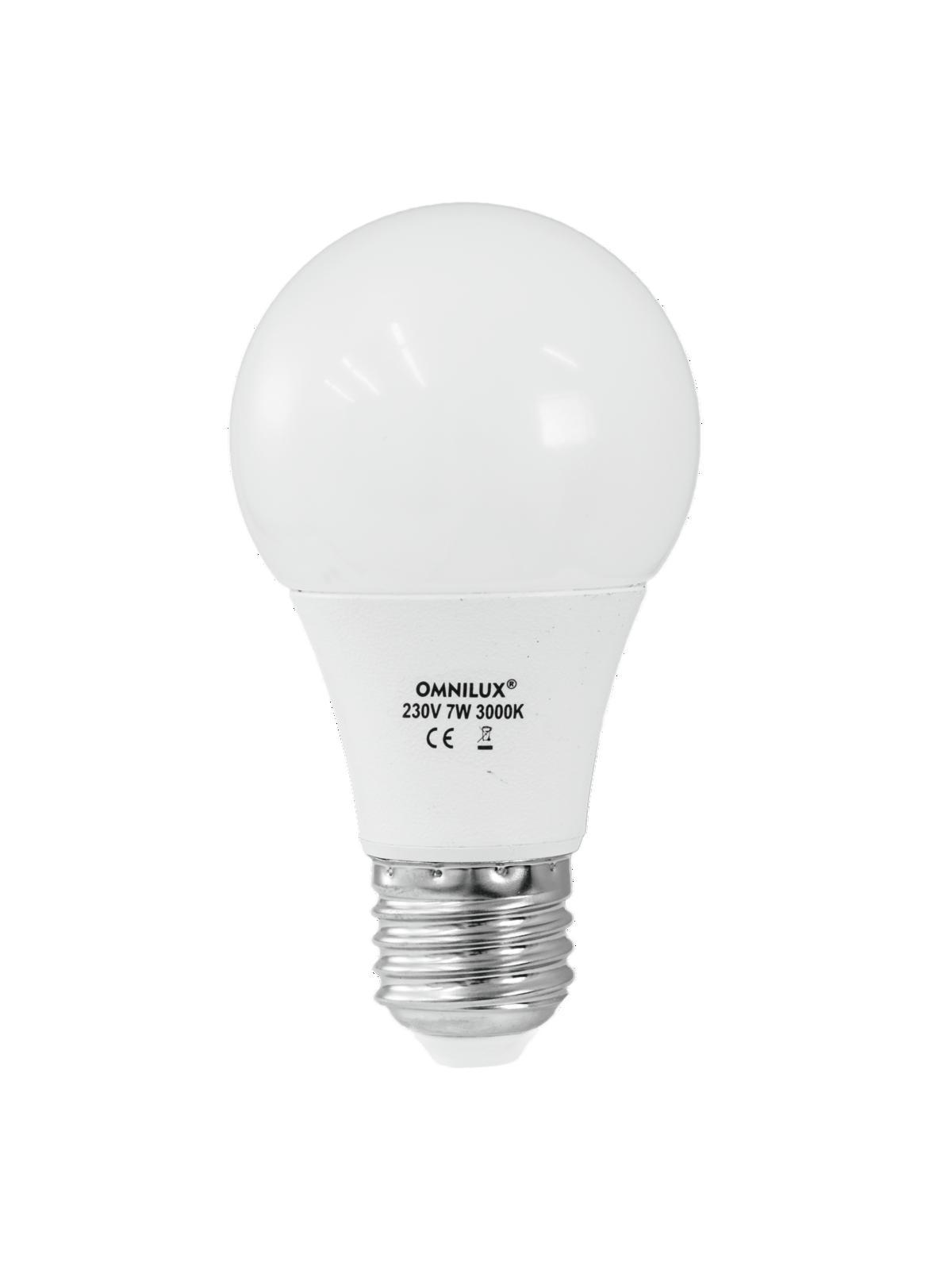 Lampada a led A19 230V 7W E-27