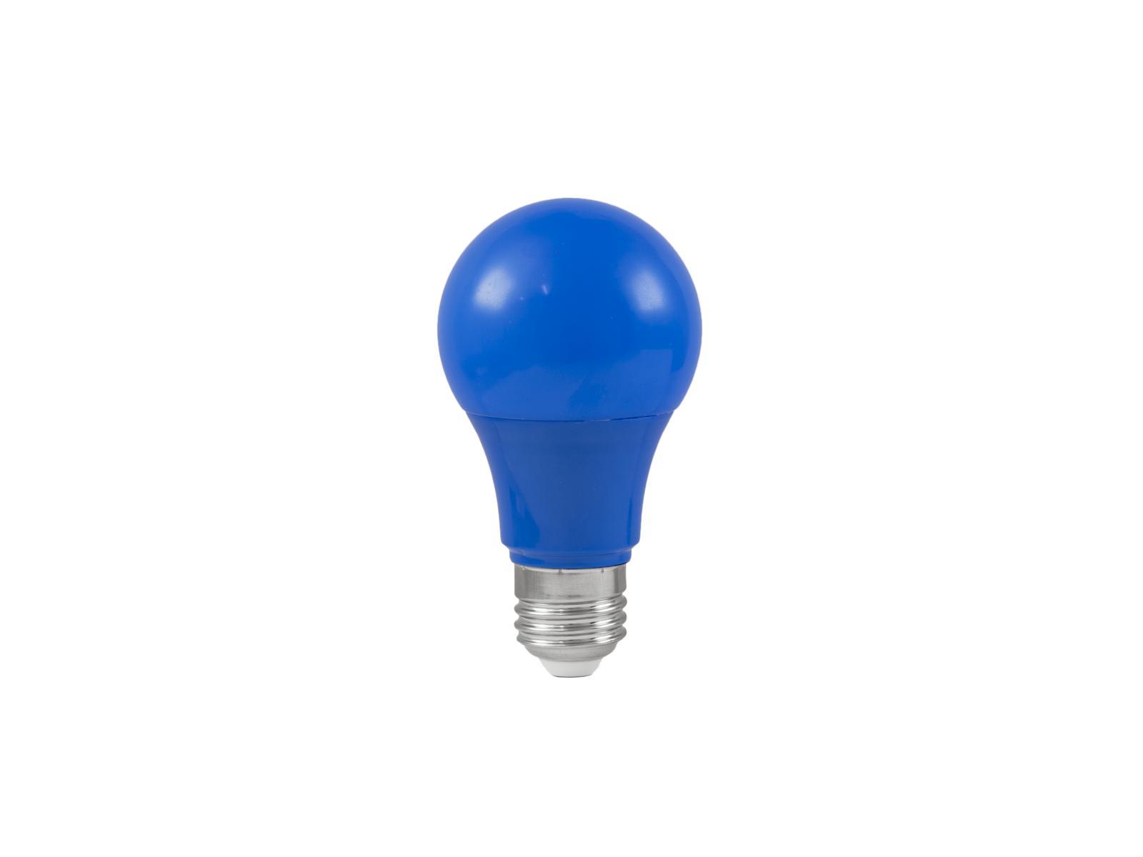 Lampada a led blu A60 230V 3W E-27 OMNILUX