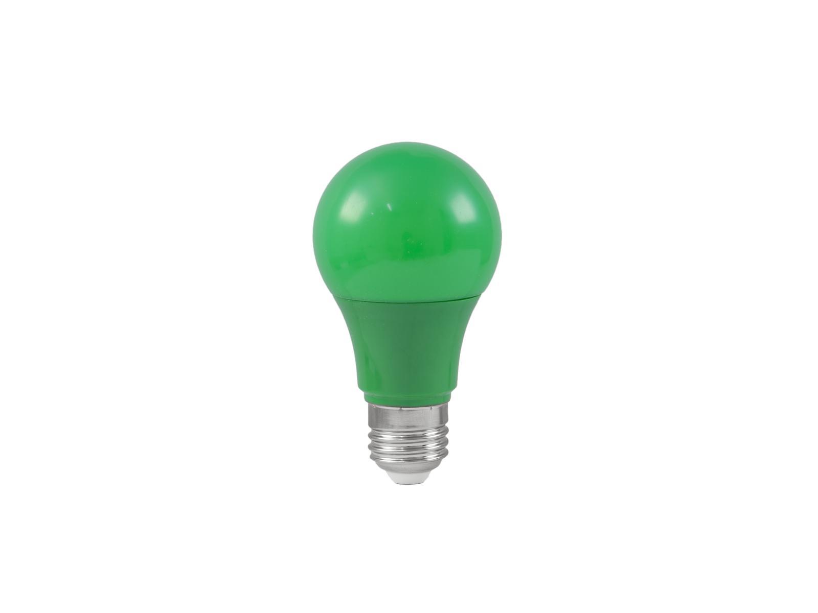 Lampada a led verde A60 230V 3W E-27 OMNILUX