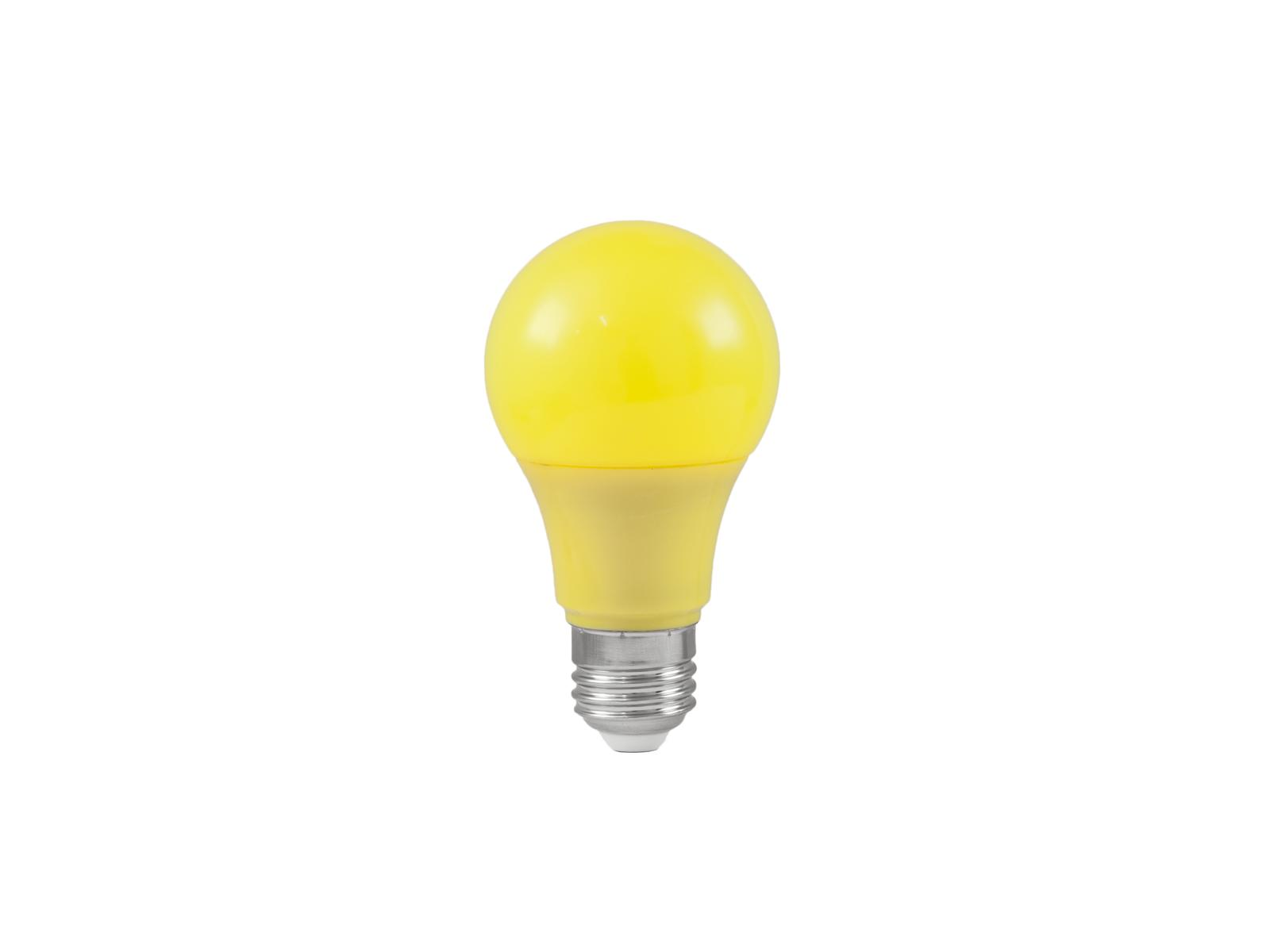 Lampada a led gialla A60 230V 3W E-27 g OMNILUX