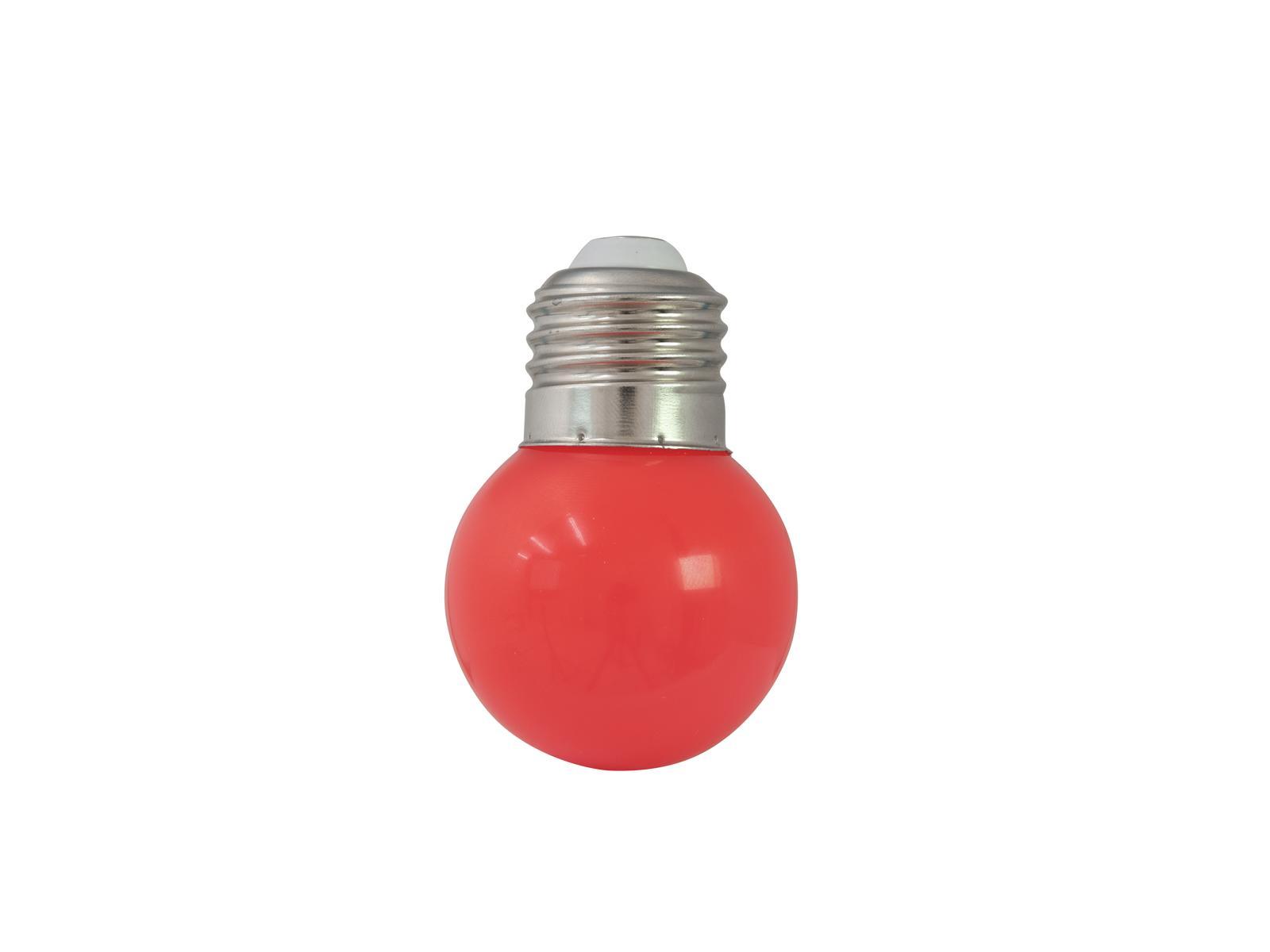 OMNILUX LED G45 230V 1W E-27 rosso