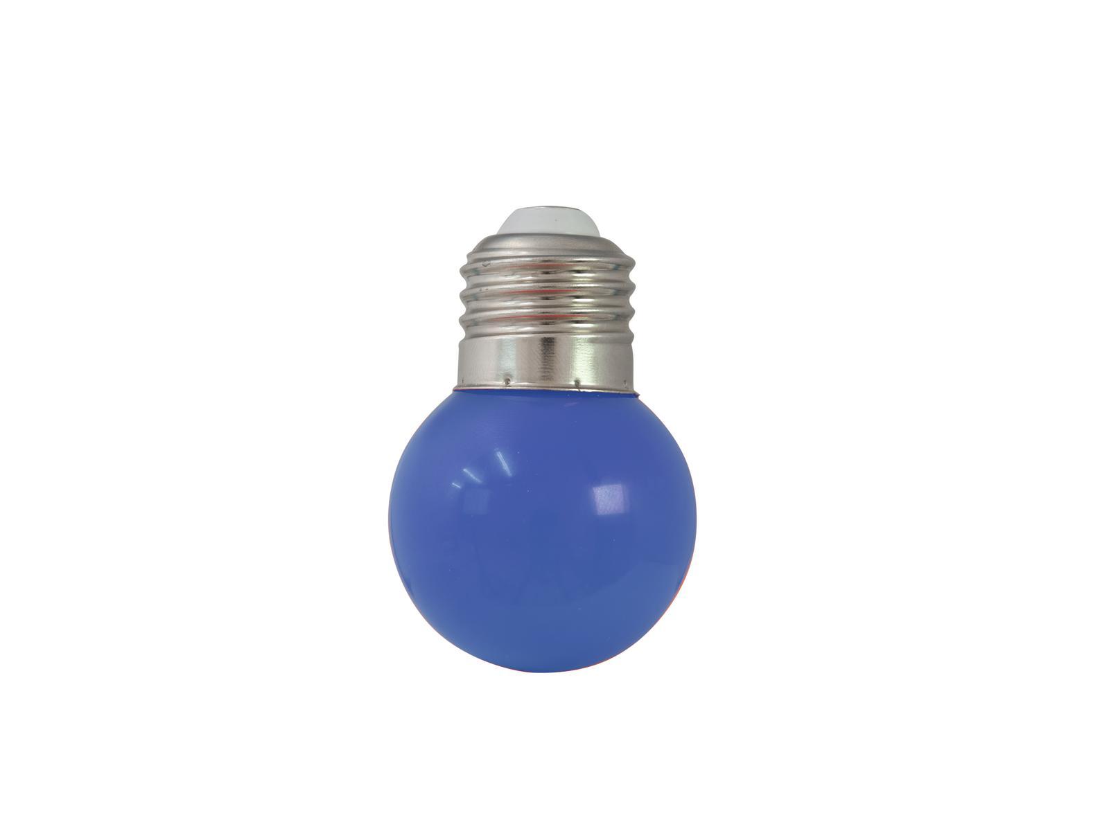 OMNILUX LED G45 230V 1W E-27 blu