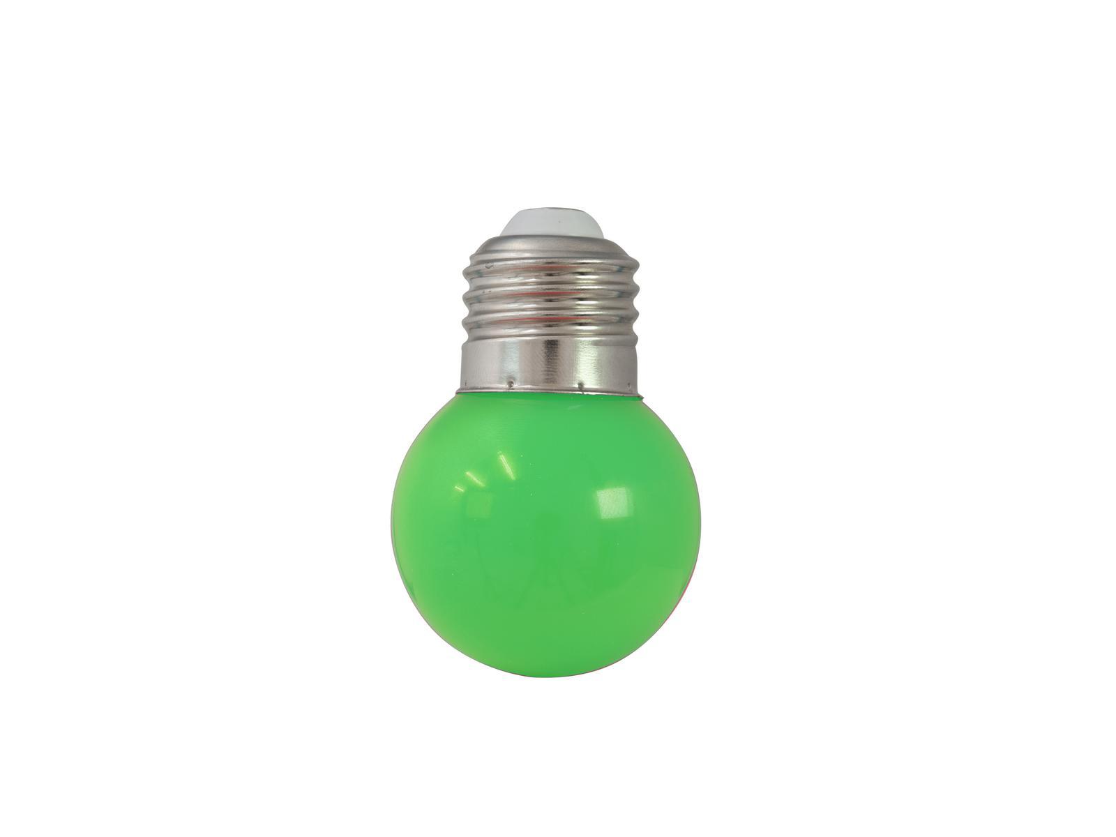 OMNILUX LED G45 230V 1W E-27 verde