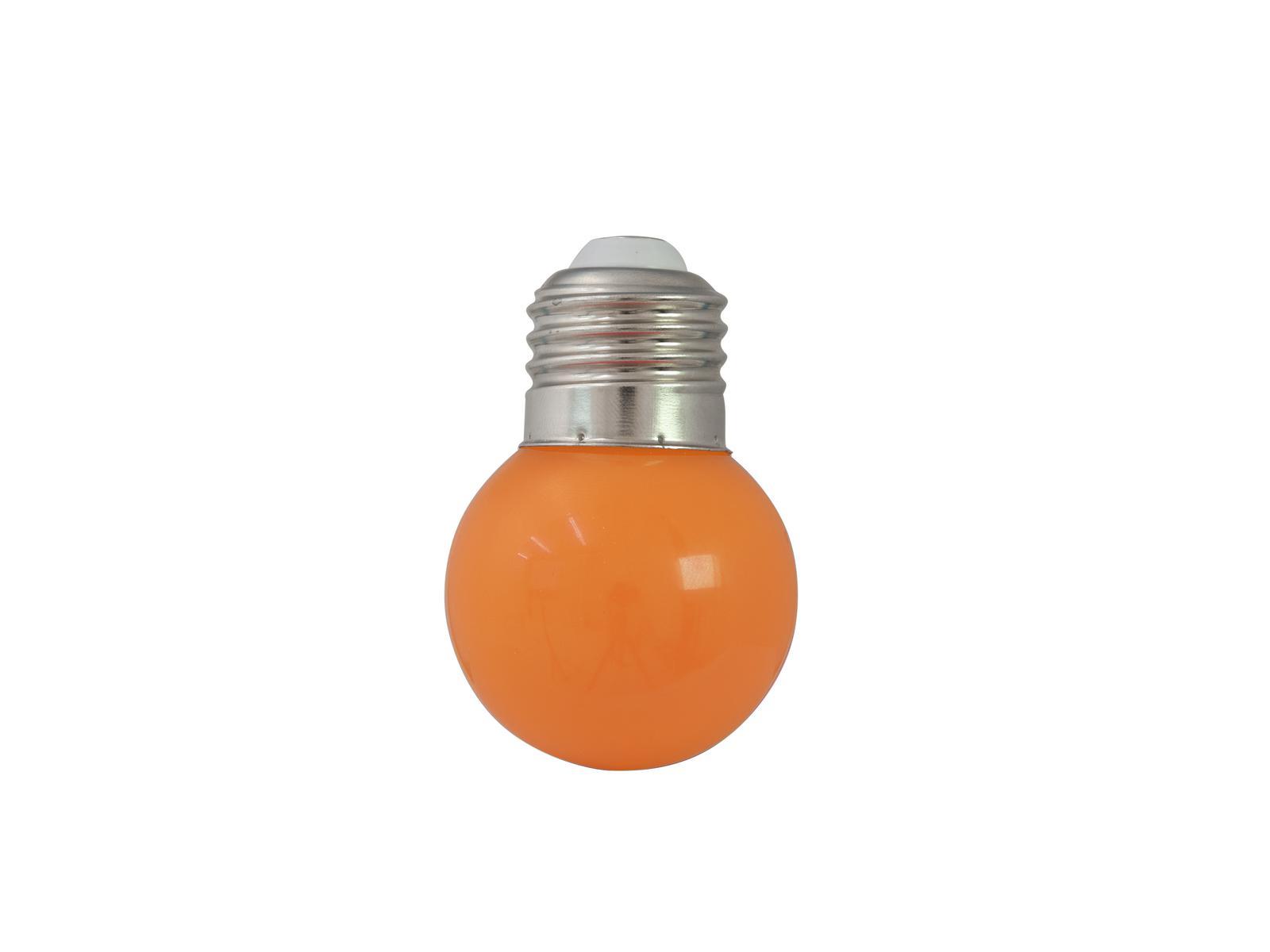 OMNILUX LED G45 230V 1W E-27 arancione