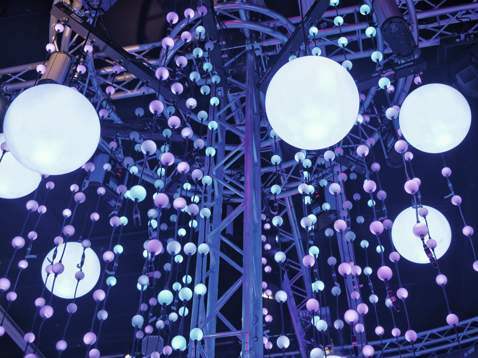 EUROLITE LED Pixel Palla a 360° 1m