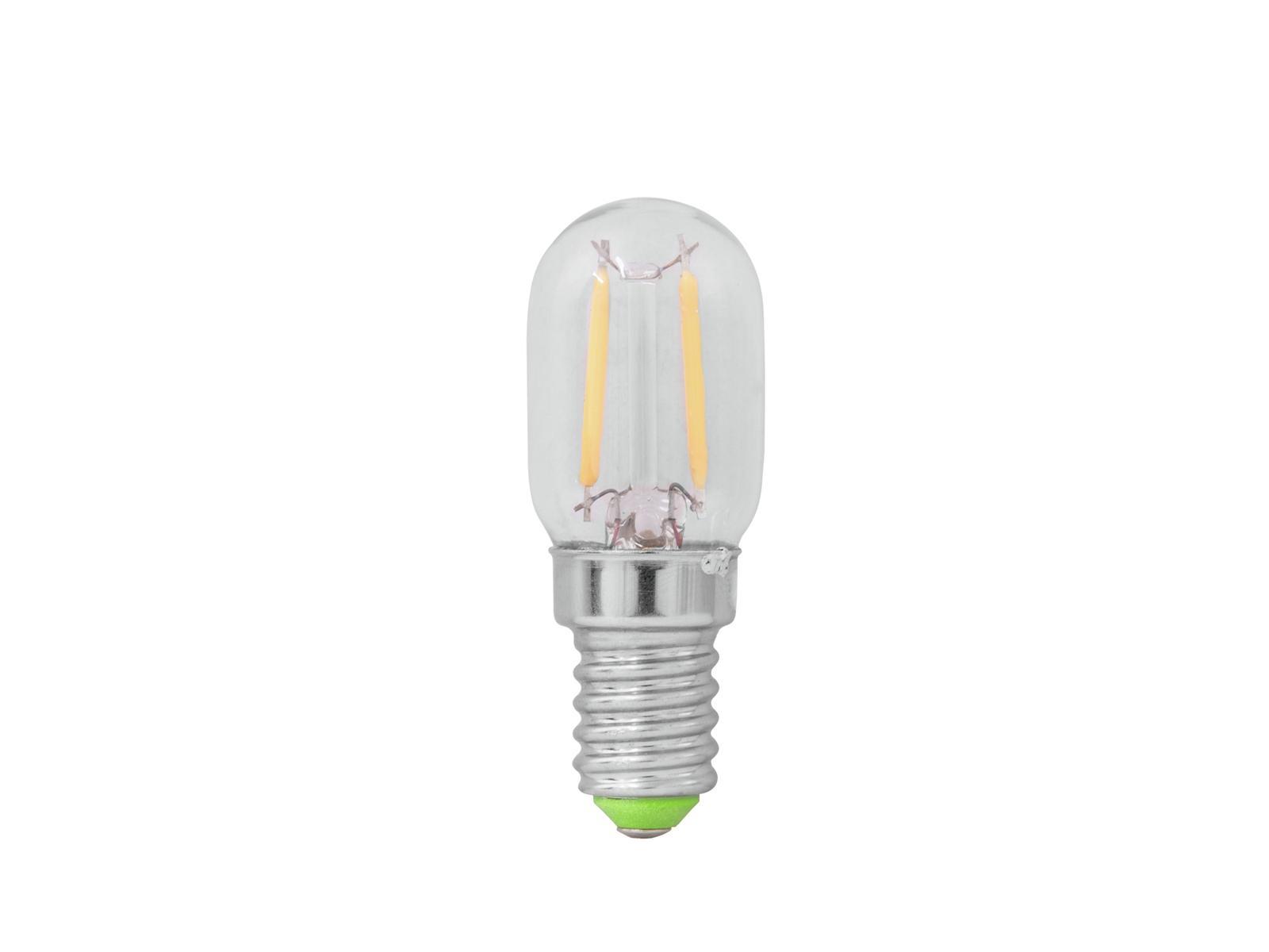 Lampada a led con filamento T22 230V 1W E-14 6400K OMNILUX