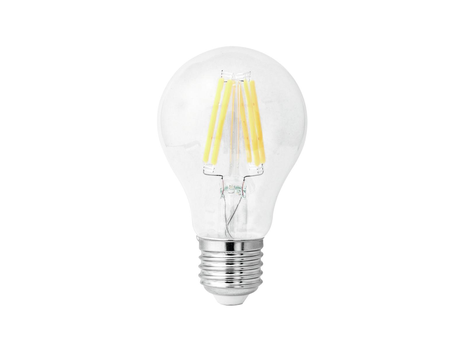 Lampada a led con filament A60 230V 4W E-27 3000K OMNILUX