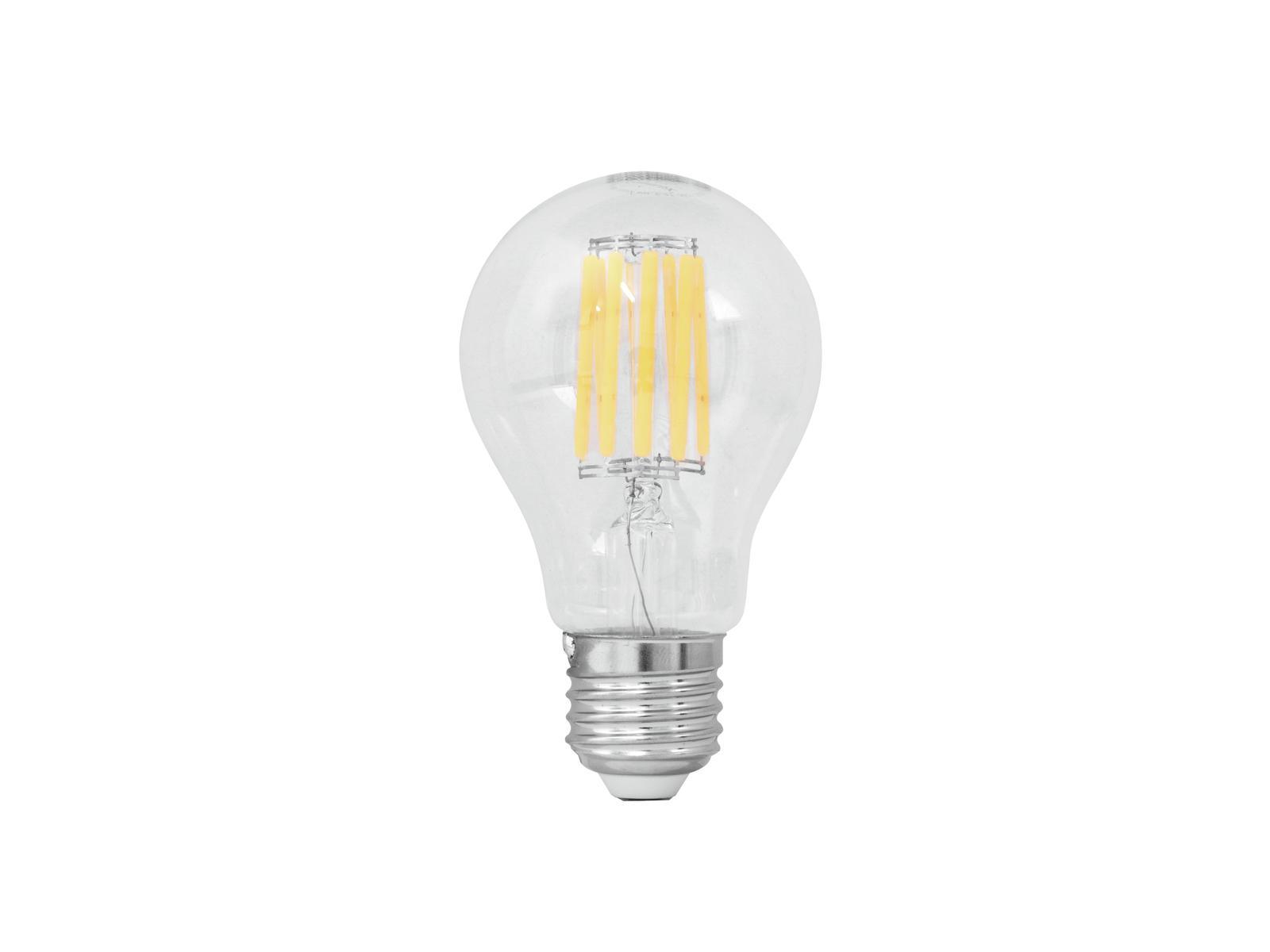 Lampada a led con filamenti 230V A60 8W E-27 3000K OMNILUX