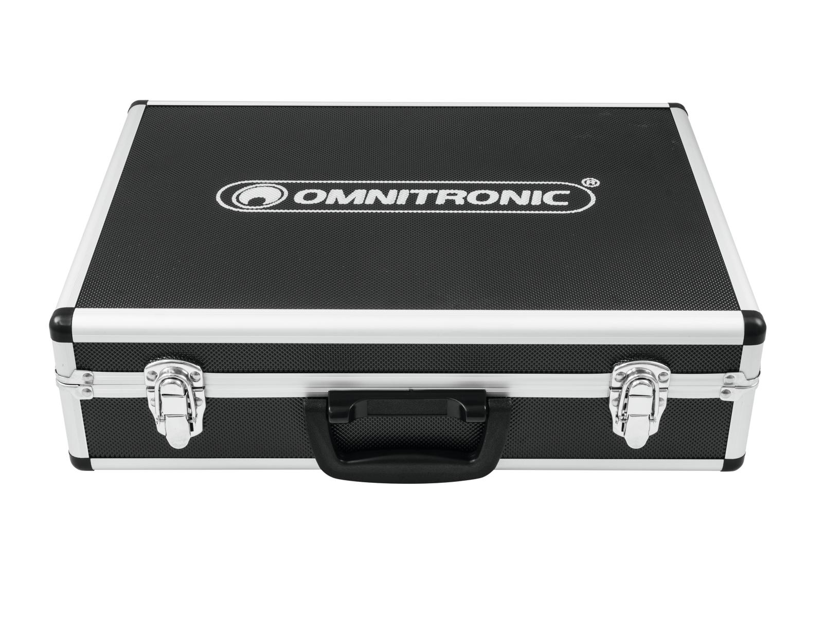 OMNITRONIC MIC 77-7LMH Schlagzeug-Mikrofonset